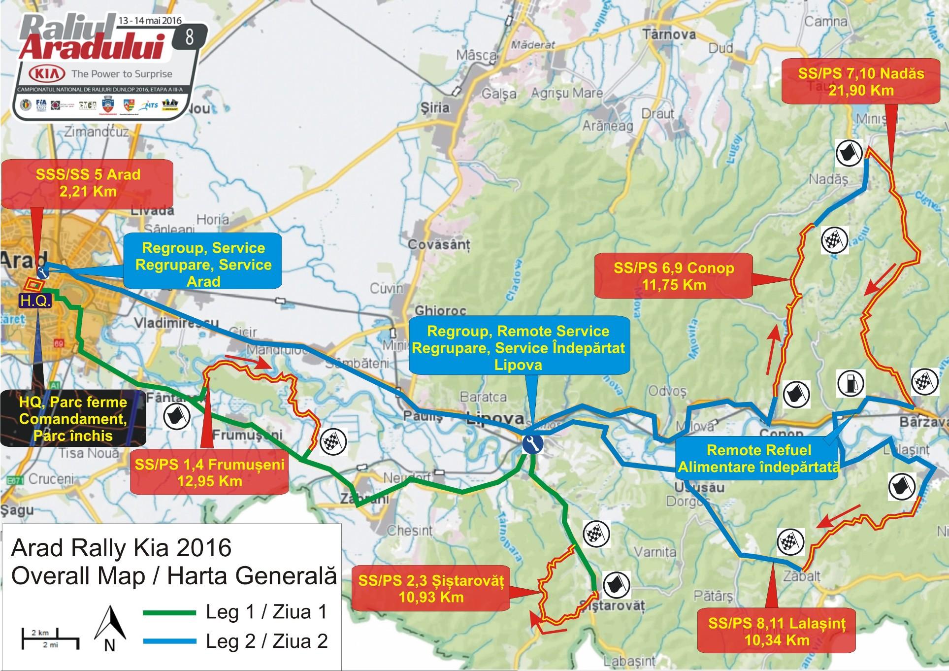 Două săptămâni până la startul Raliului Aradului KIA – Documente oficiale