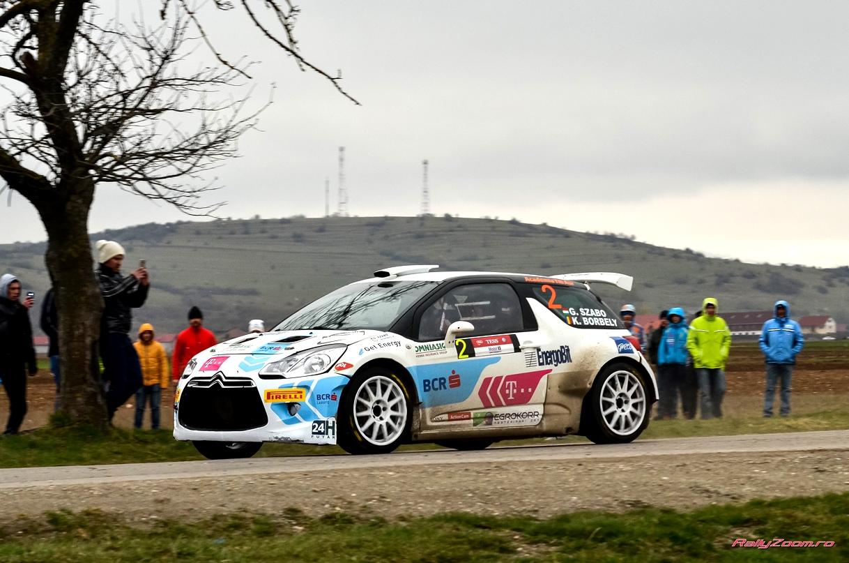 BCR Rally Team porneste increzatoare spre Raliul Sibiului