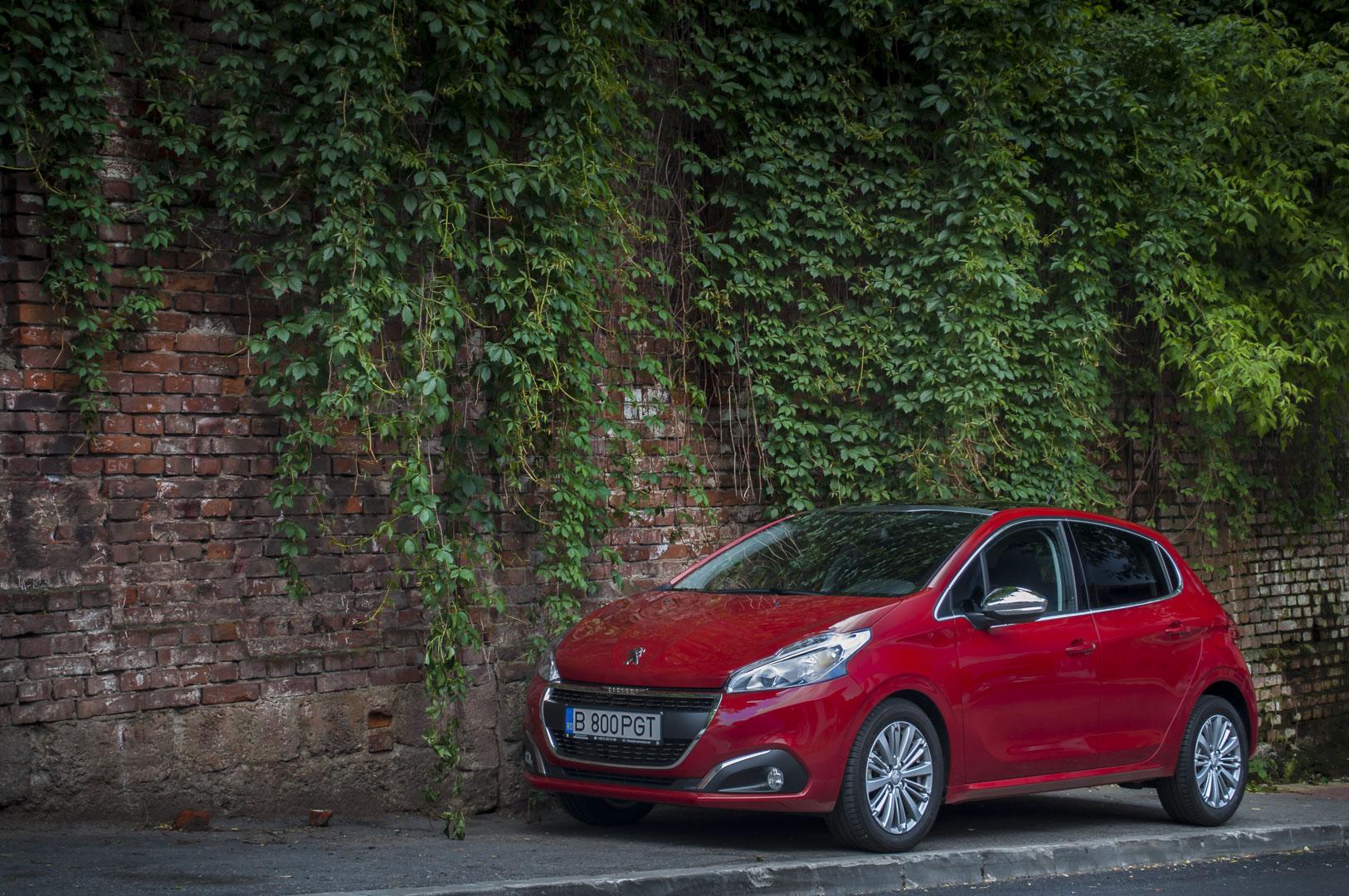 Drive – test Peugeot 208 facelift – 1.6 BlueHDI – 100 CP – 5MT