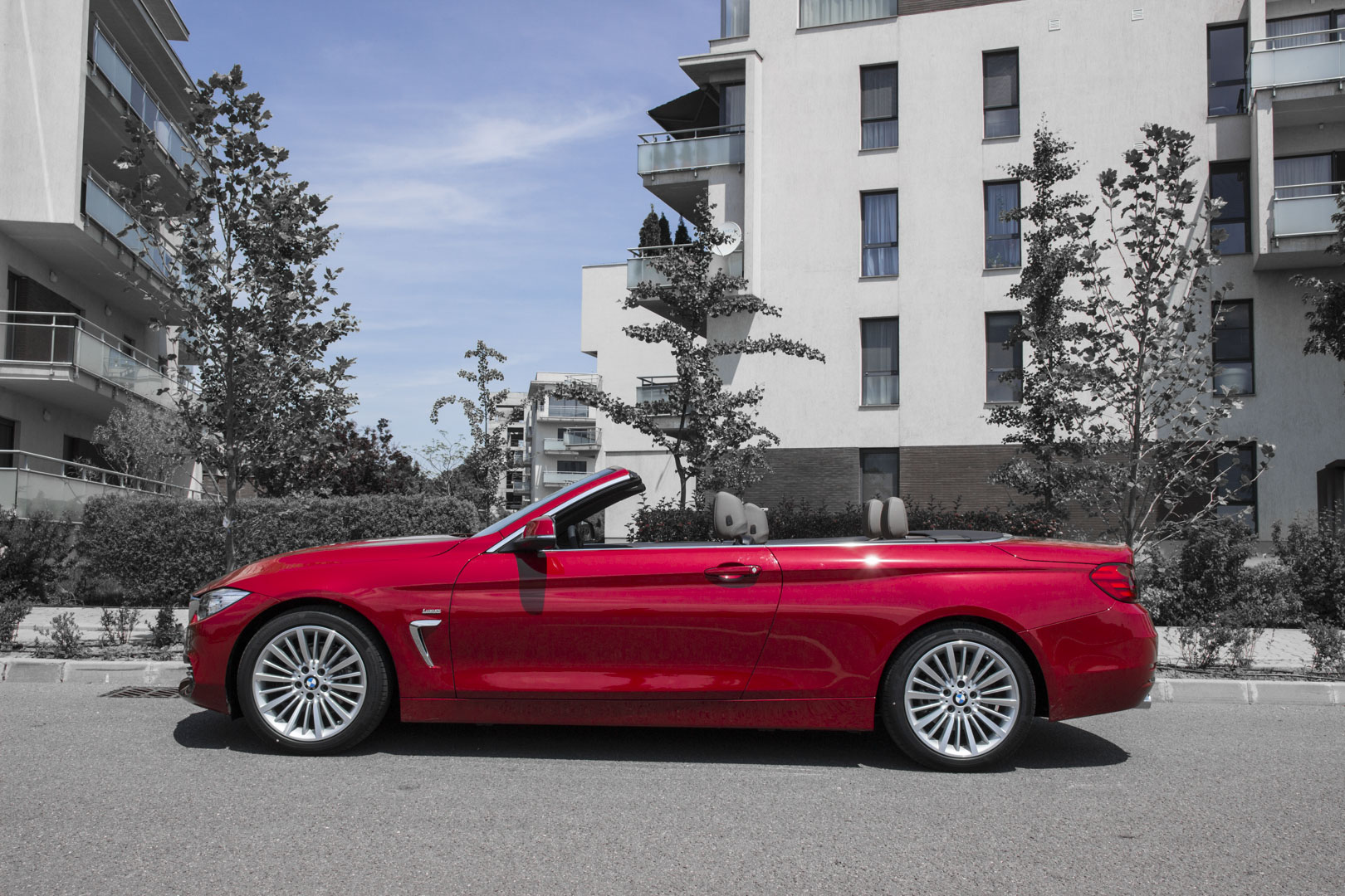 Drive-test BMW 420i CONVERTIBLE