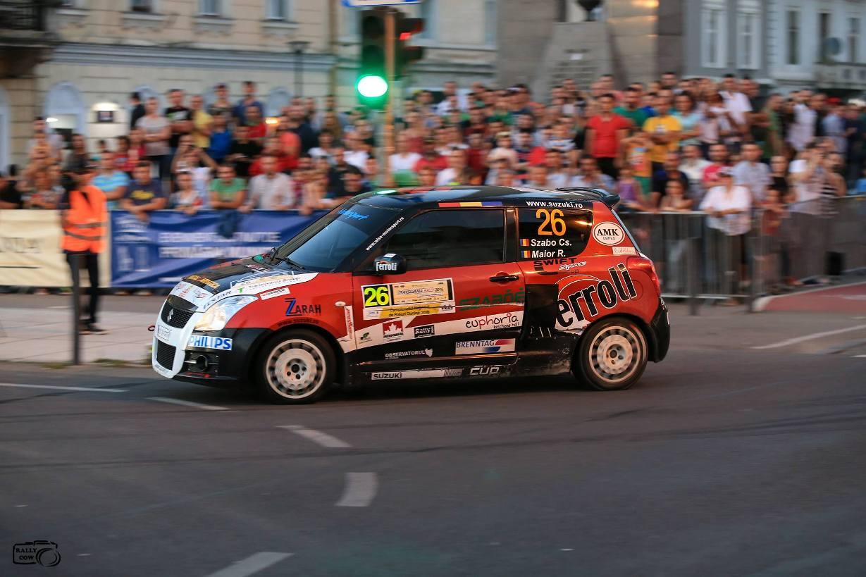 Victorie in Swift Sport Cup pentru Csongor Szabo si Robert Maior la Transilvania Rally