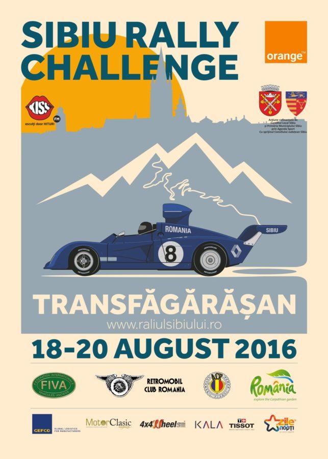 Afis Sibiu Rally Challenge