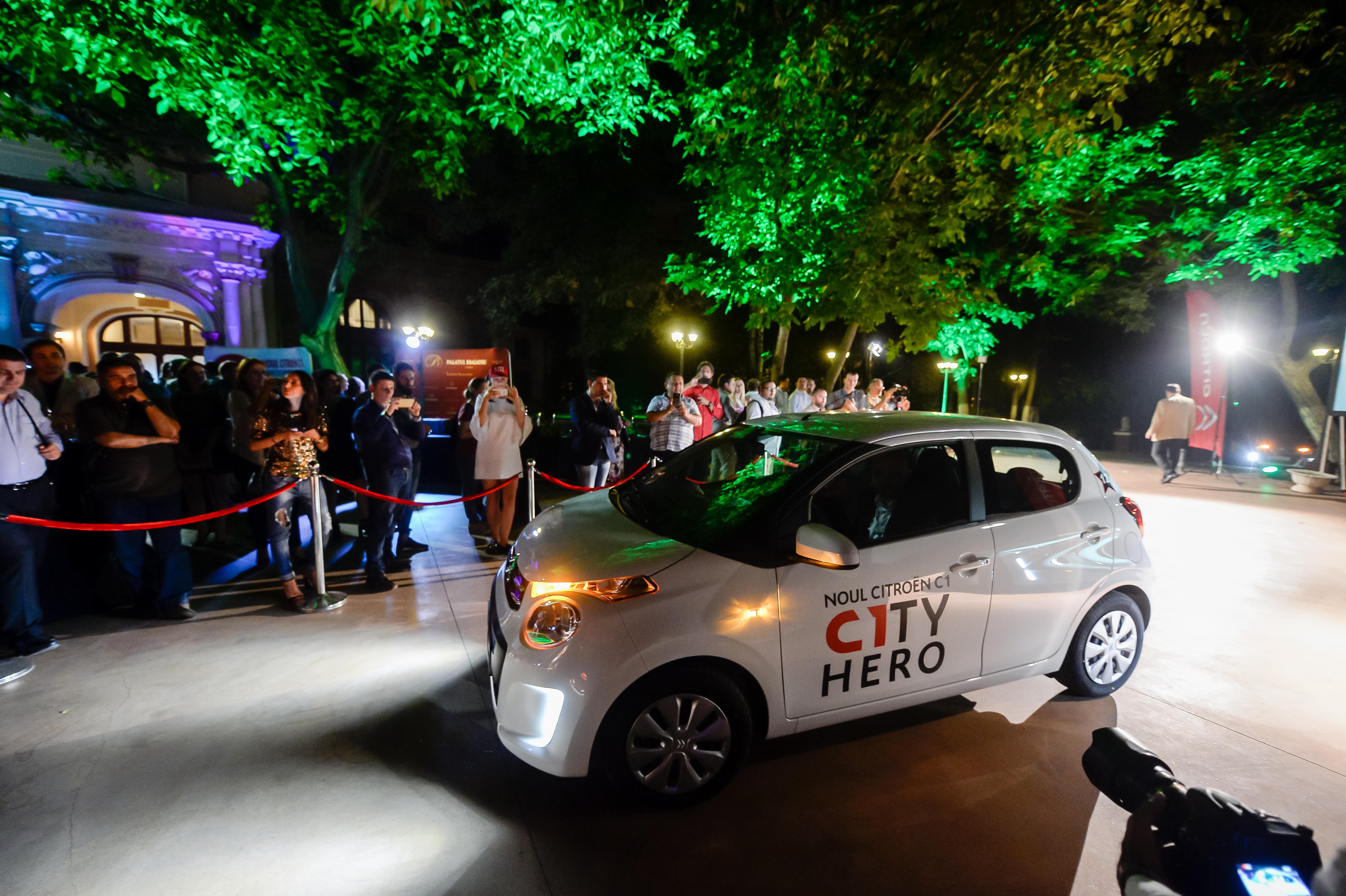 PARTY Citroen C1TY HERO @Palatul Bragadiru