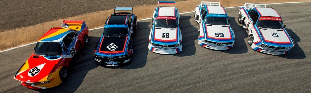 BMW a aniversat 100 de ani la Monterey Car Week