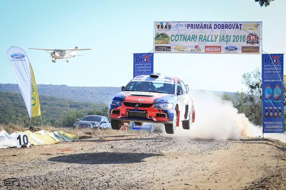 Manu Mihalache – Jancsi Soos, locul 4 in Clasamentul General si locul 2 la Clasa 3, la Cotnari Rally Iasi