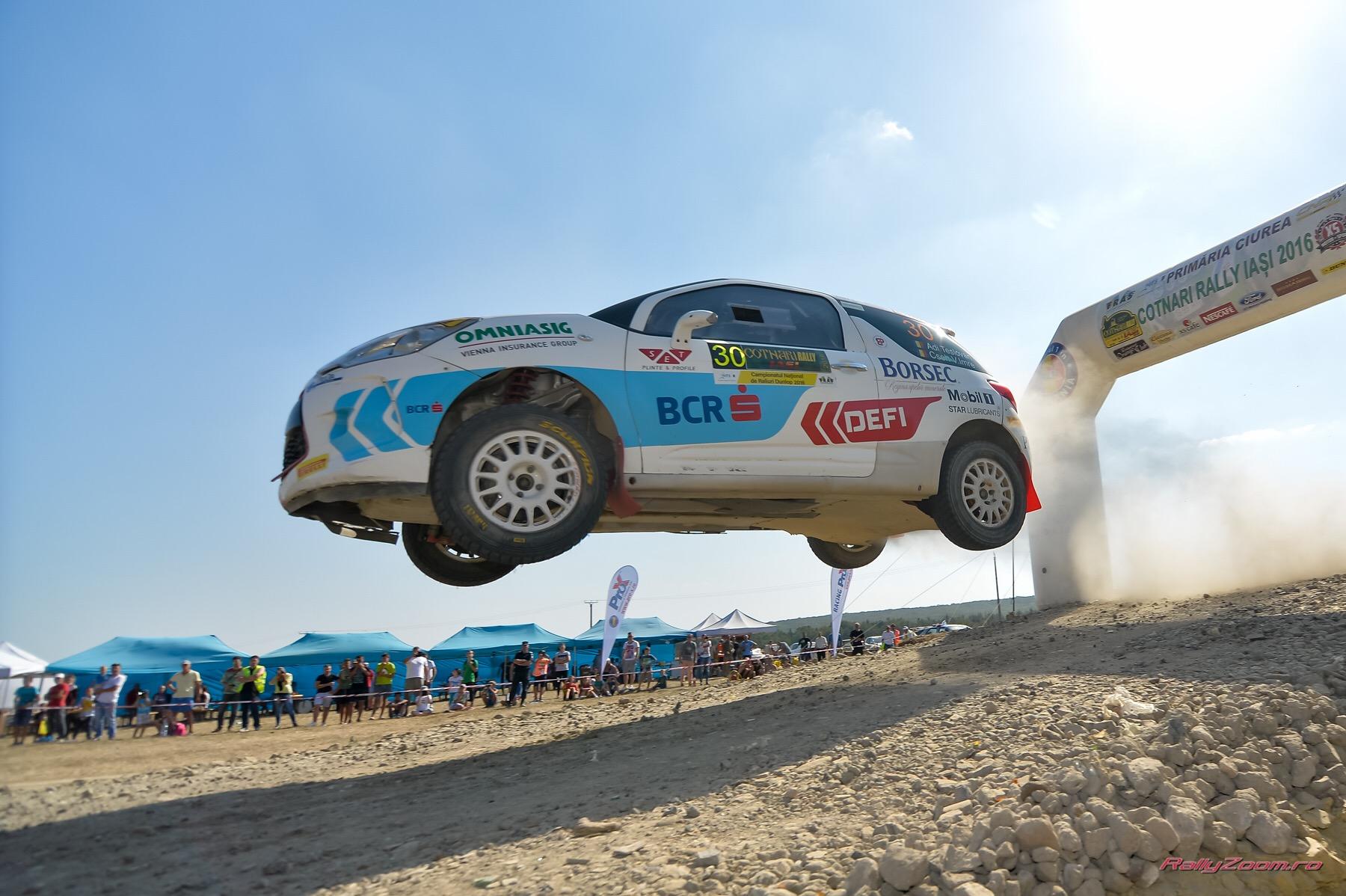 BCR Rally Team a zburat prea sus la Raliul Iasului 2016