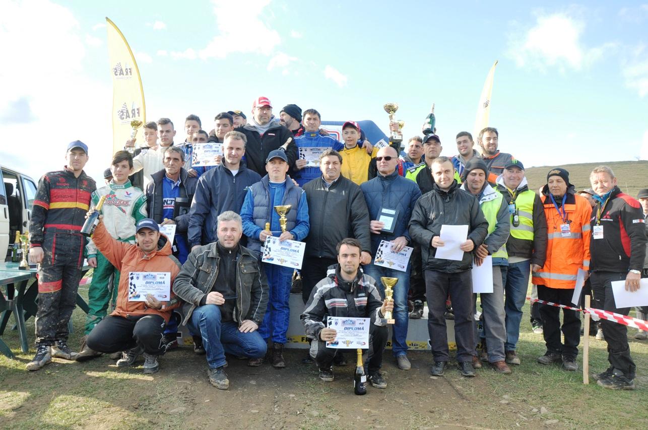 21 de concurenți au participat la Cupa Câmpulung Muscel la Rally Cross