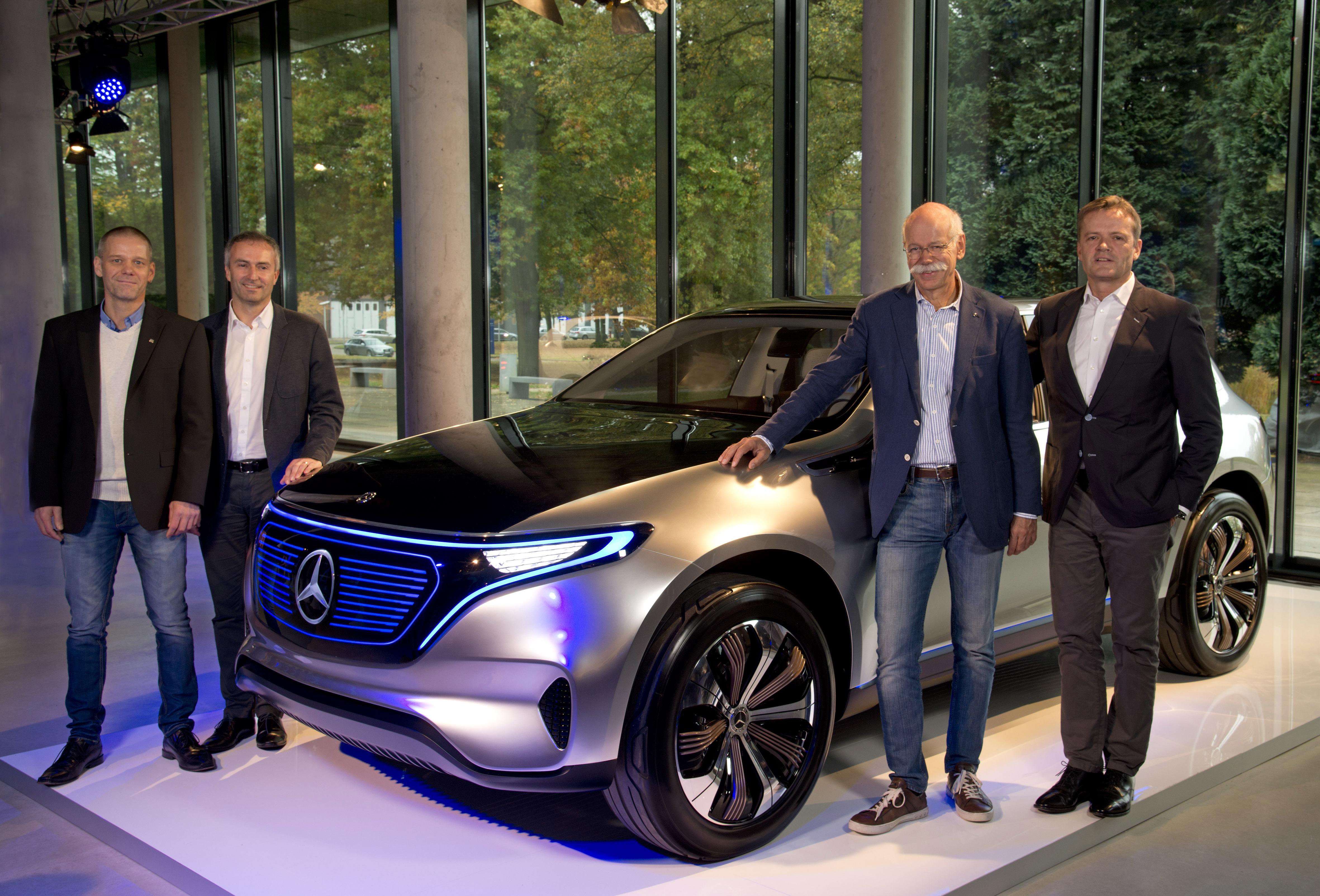 Mercedes-Benz va produce prima maşină electrică sub noul brand EQ, în fabrica sa din Bremen