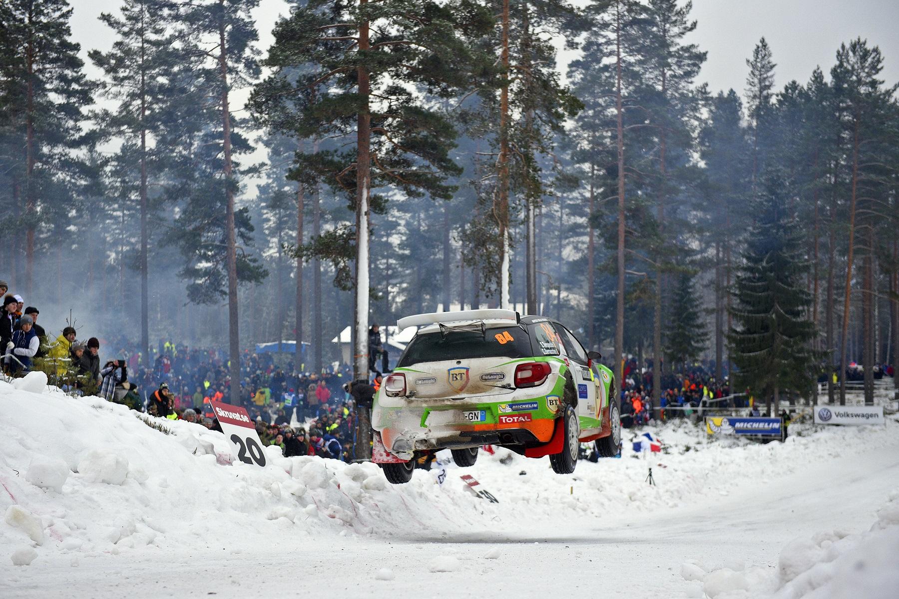 Abandon pentru Simone Tempestini in Raliul Suediei 2017