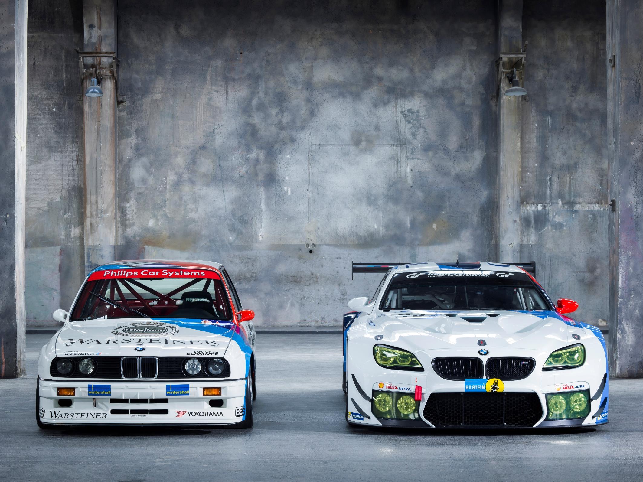 Design istoric pentru BMW M6 GT3 Team Schnitzer