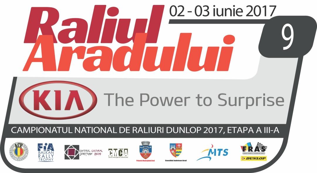 Raliul Aradului KIA 2-3 iunie 2017