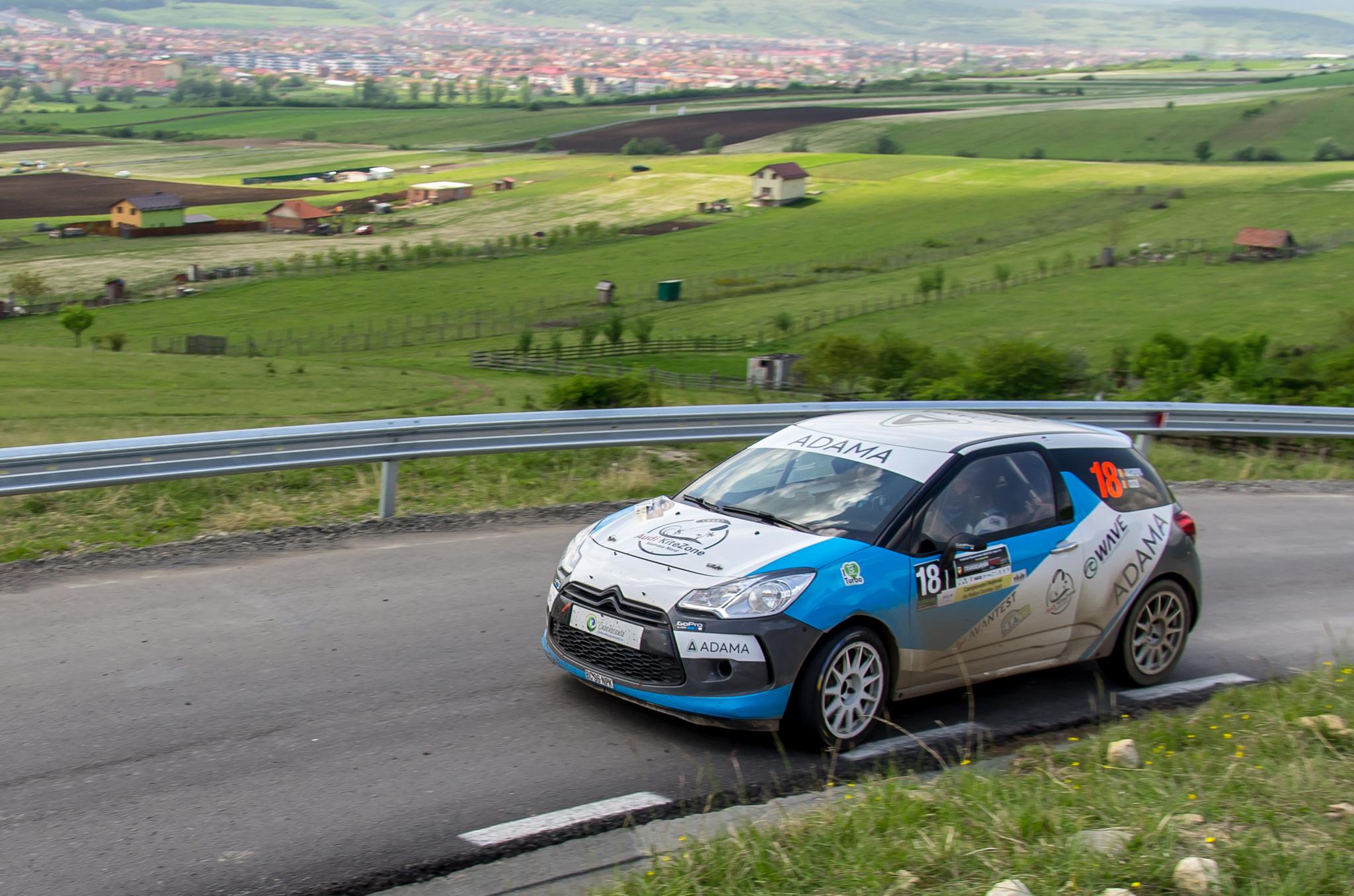 Adrian Raspopa obtine o noua victorie la grupa 2RW in Transilvania Rally