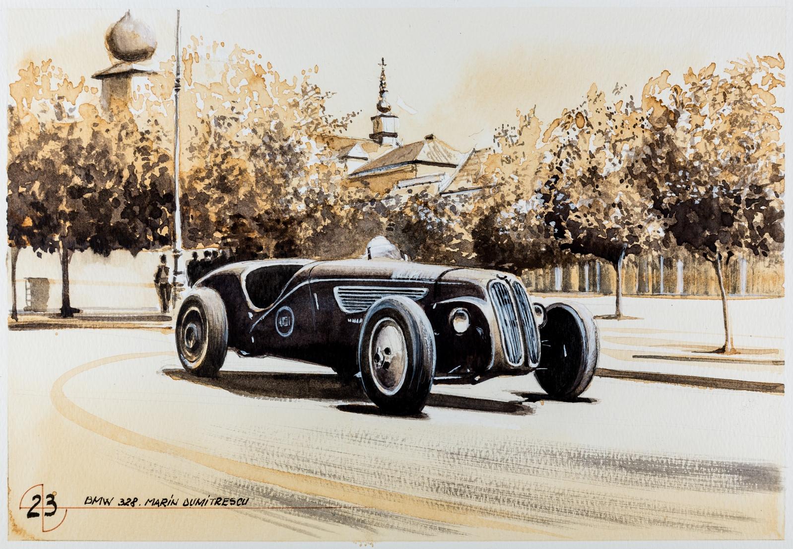 100 de ani de istorie BMW exploraţi prin 101 picturi in premiera in SUA