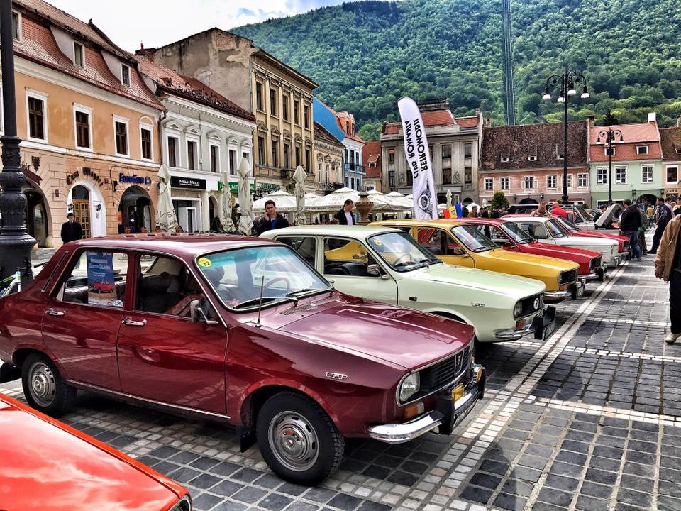 Dacia Clasic se intalneste la Iasi
