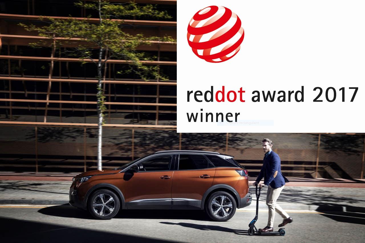Două premii Red Dot Product Design, pentru PEUGEOT, în 2017