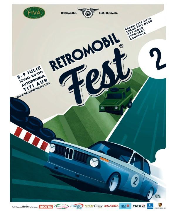 Ediția a doua a Retromobil Fest va avea loc la ATA in weekendul 8-9 iulie