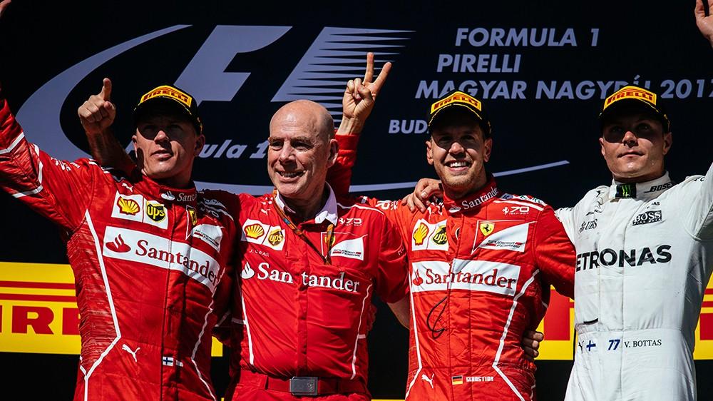 Dubla Ferrari in Ungaria