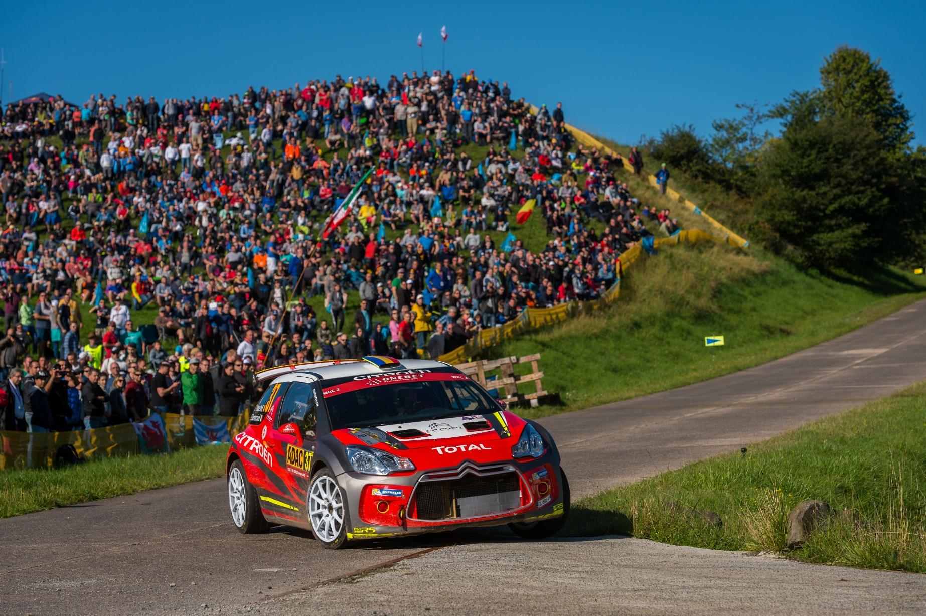 Locul 6 pentru Simone Tempestini in WRC2 la Raliul Germaniei