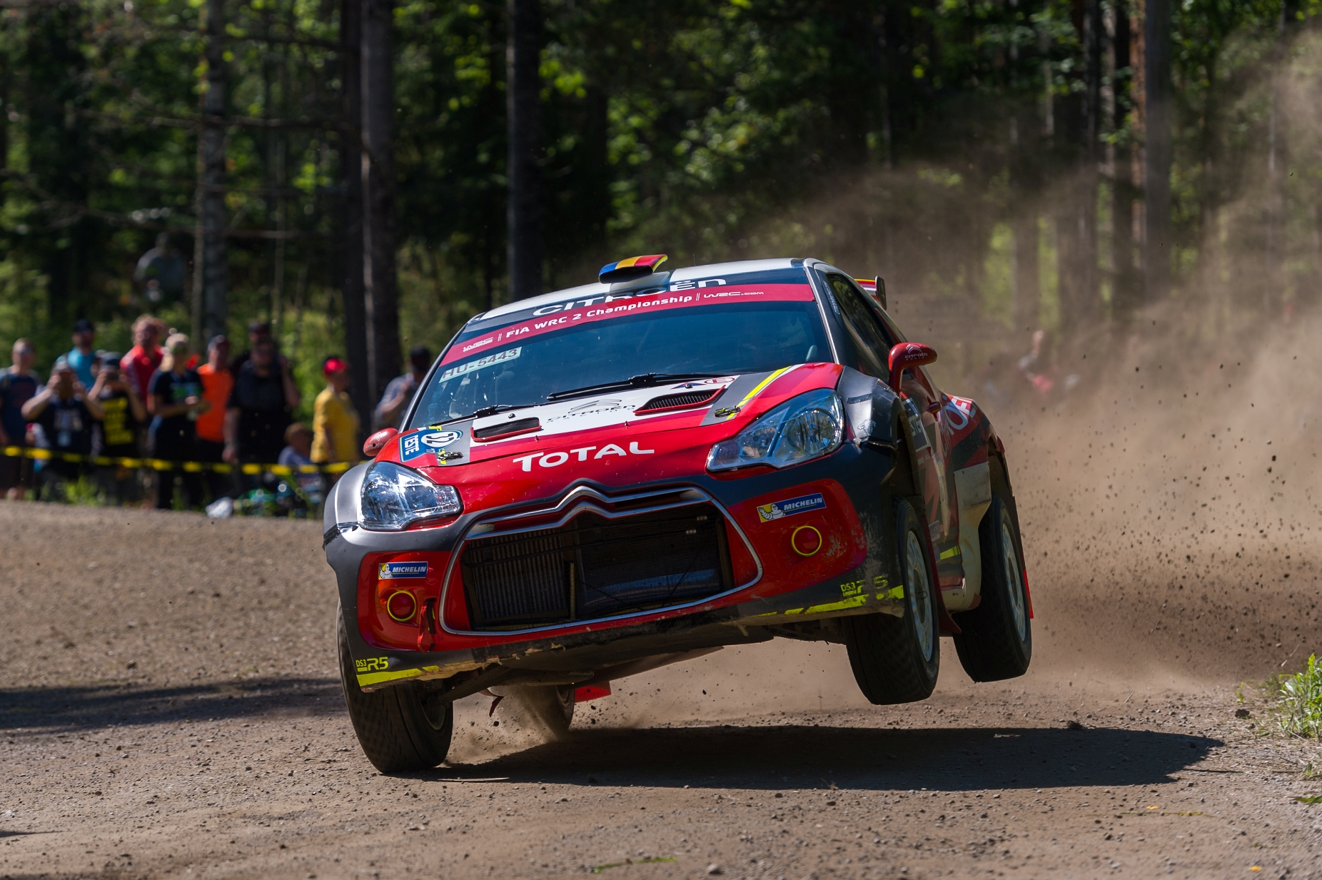 Simone Tempestini s-a clasat pe locul 5 in WRC 2 la Raliul Finlandei