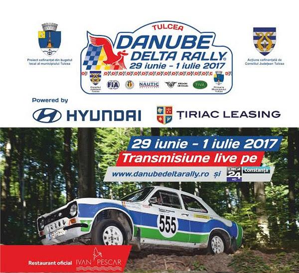 Danube Delta Rally® 2017 primeste raportul favorabil FIVA