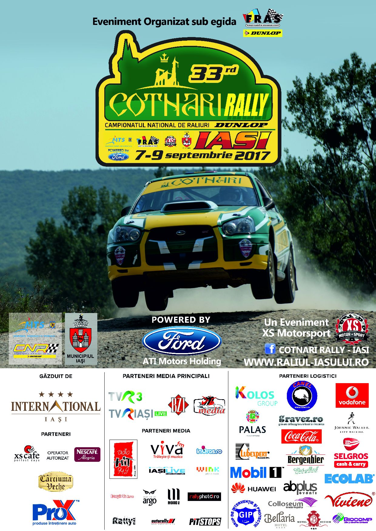 Start in Cotnari Rally Iasi 2017
