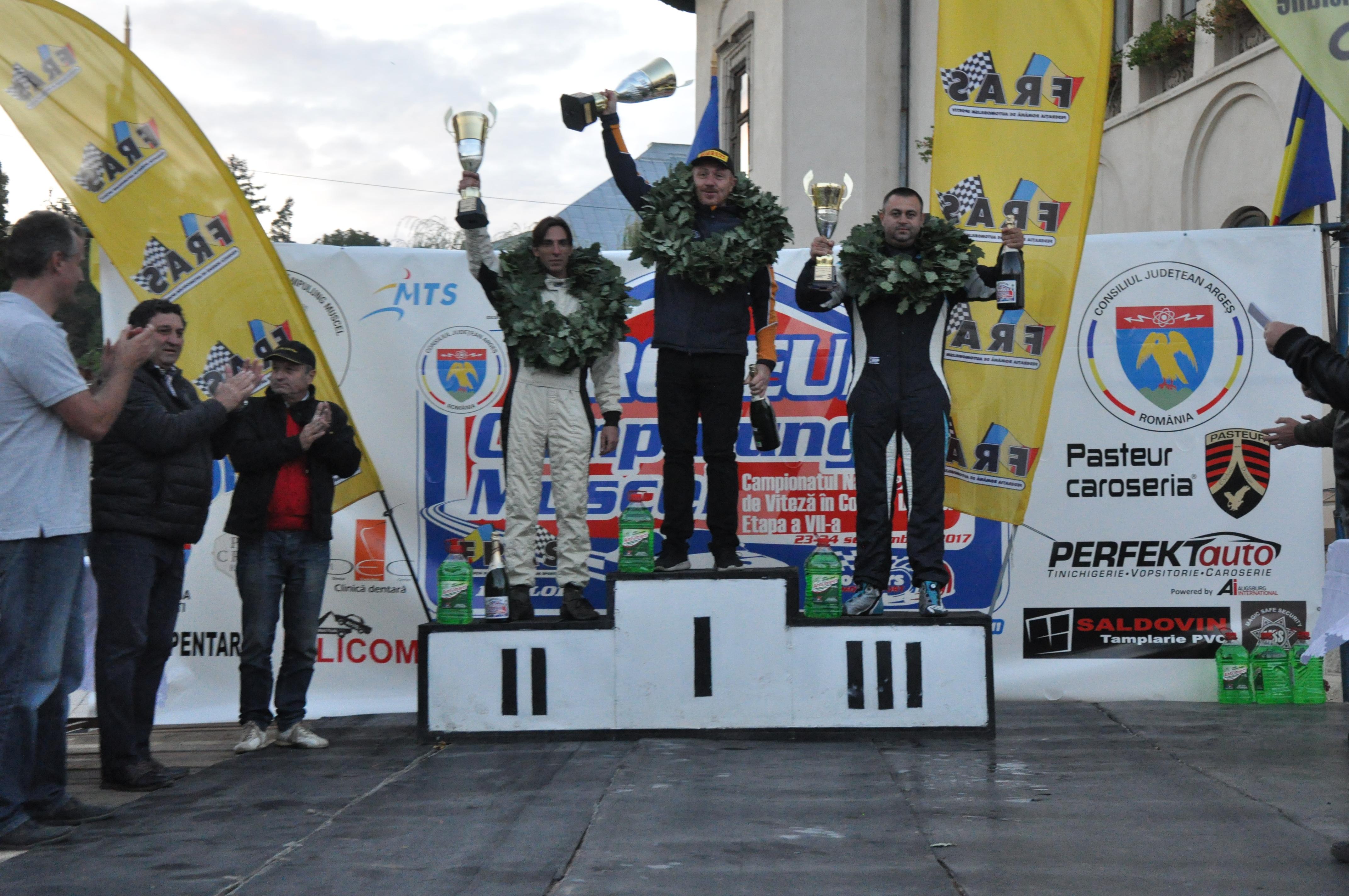 Paul Andronic a devenit campion național la Viteză în Coastă la Trofeul Câmpulung Muscel 2017