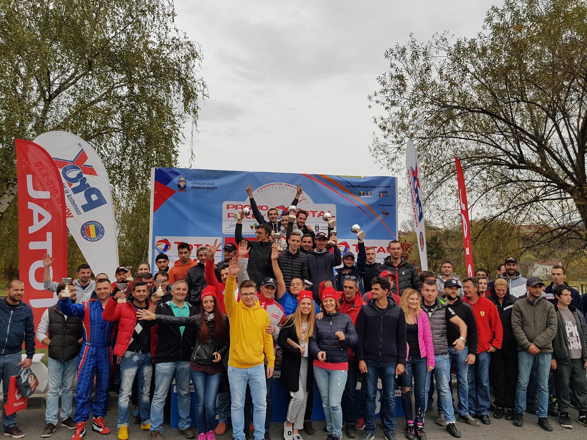 Număr record de participanți la prima etapă Promo Rally TOTAL