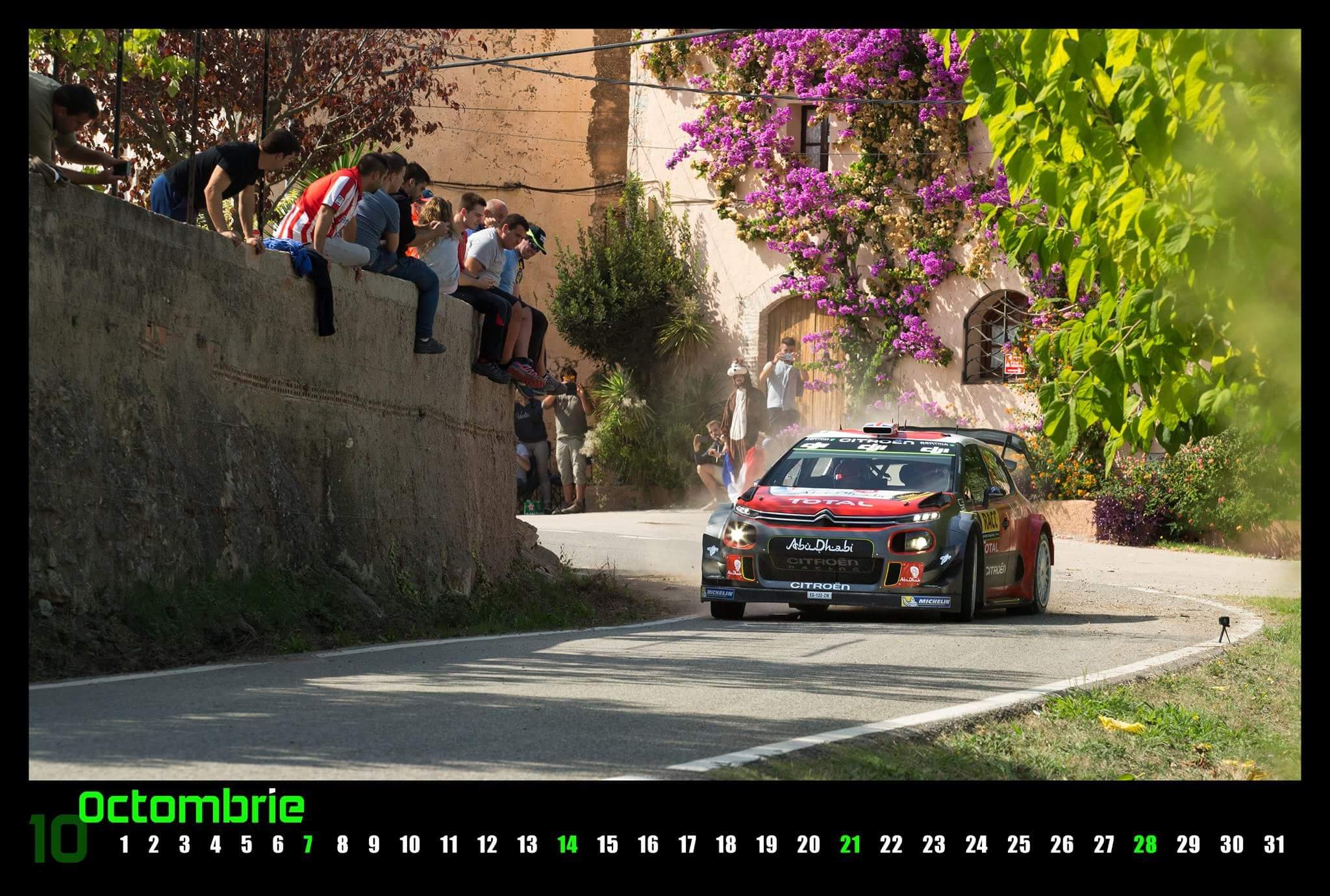 Calendar RallyCow WRC