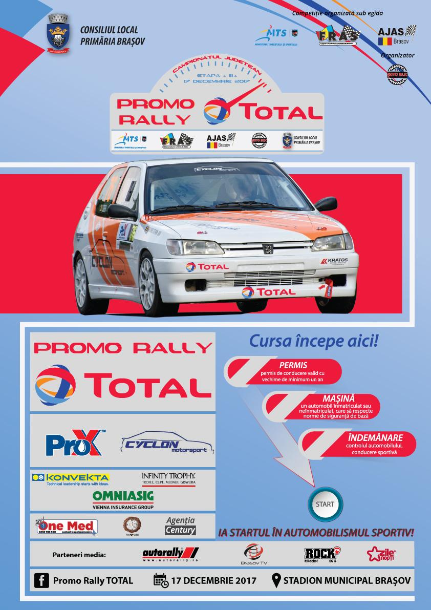 Promo Rally TOTAL dă startul în etapa a treia