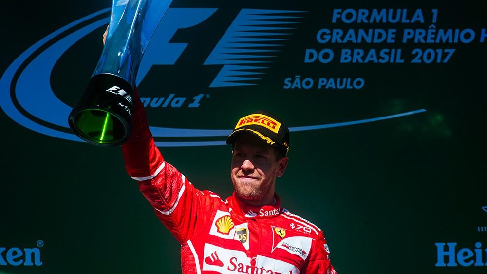 Sebastian Vettel a castigat Marele Premiu al Braziliei