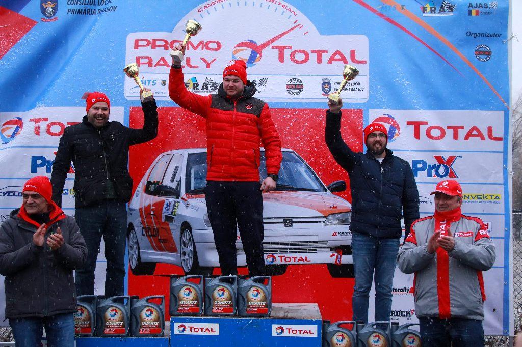 Promo Rally TOTAL – spectacol înaintea vacanței