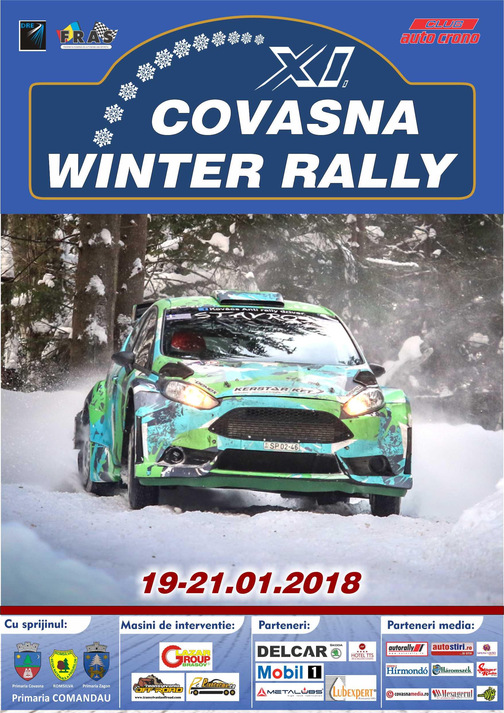 Winter Rally Covasna 2018 – Trofeul celor 3 Națiuni