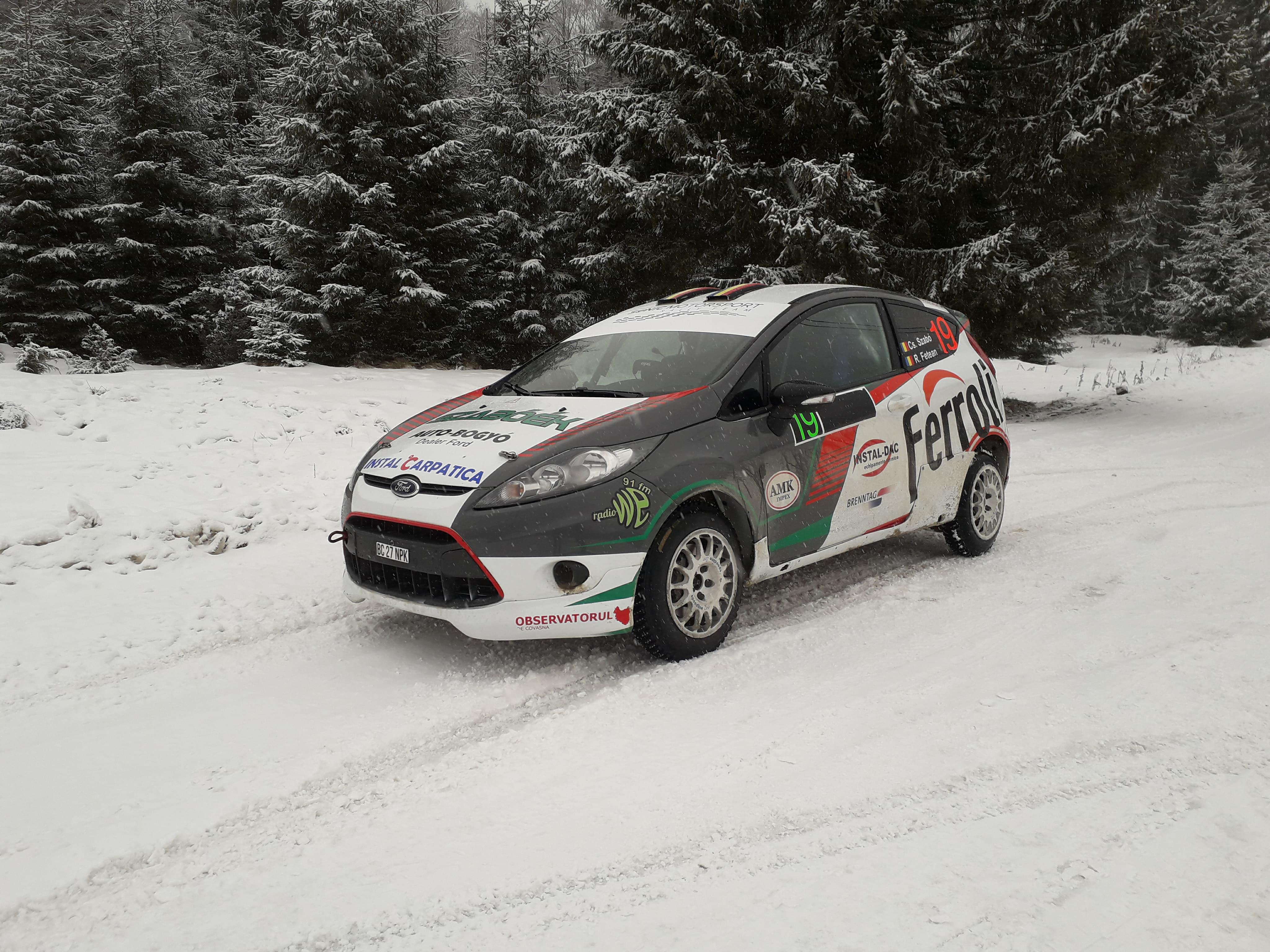 Pregatirea sezonului 2018 incepe la Winter Rally pentru Csongor Szabo