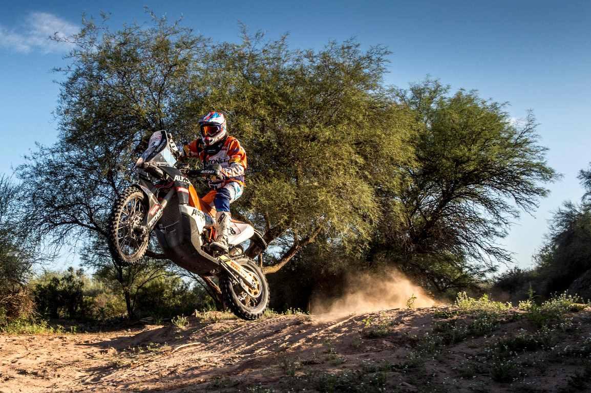 Mani Gyenes termină pe locul 23 cel mai dur Dakar din America de Sud