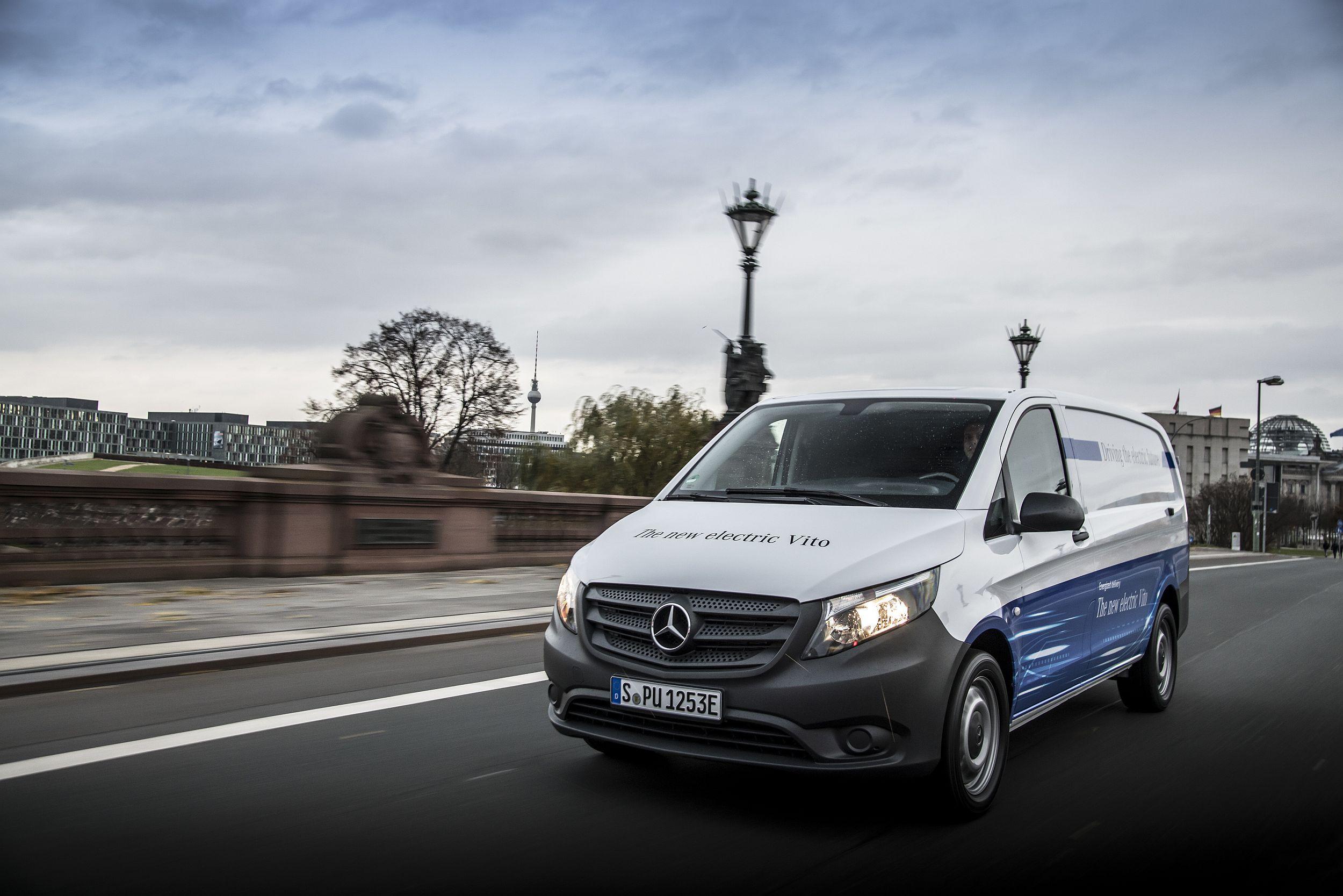 Divizia Vans a Mercedes-Benz a depășit pentru prima oară pragul de 400.000 unități vândute