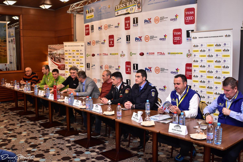 Conferinţa de presă premergătoare Tess Rally 47 Brasov