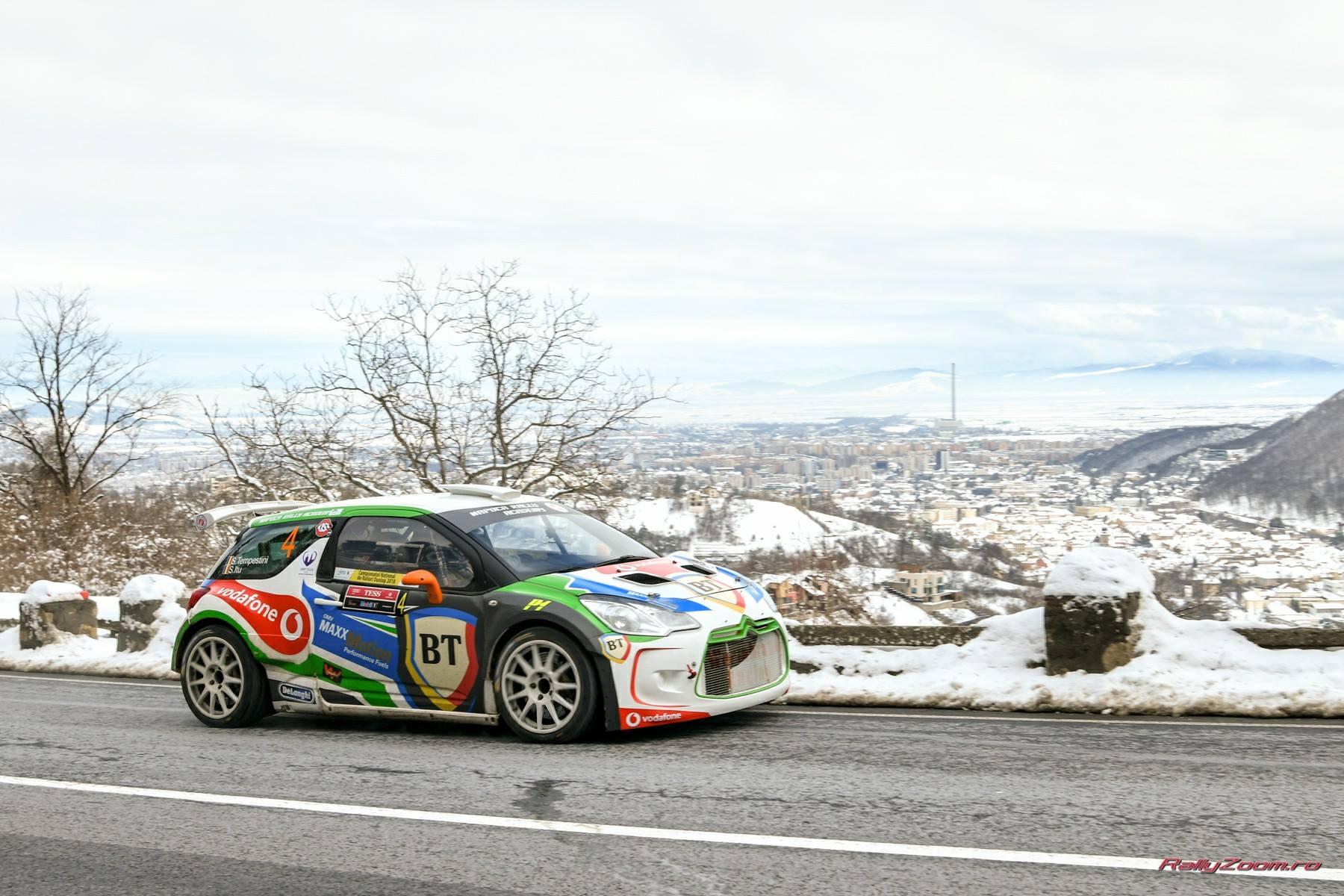 Simone Tempestini a câștigat Tess Rally 47 Brașov