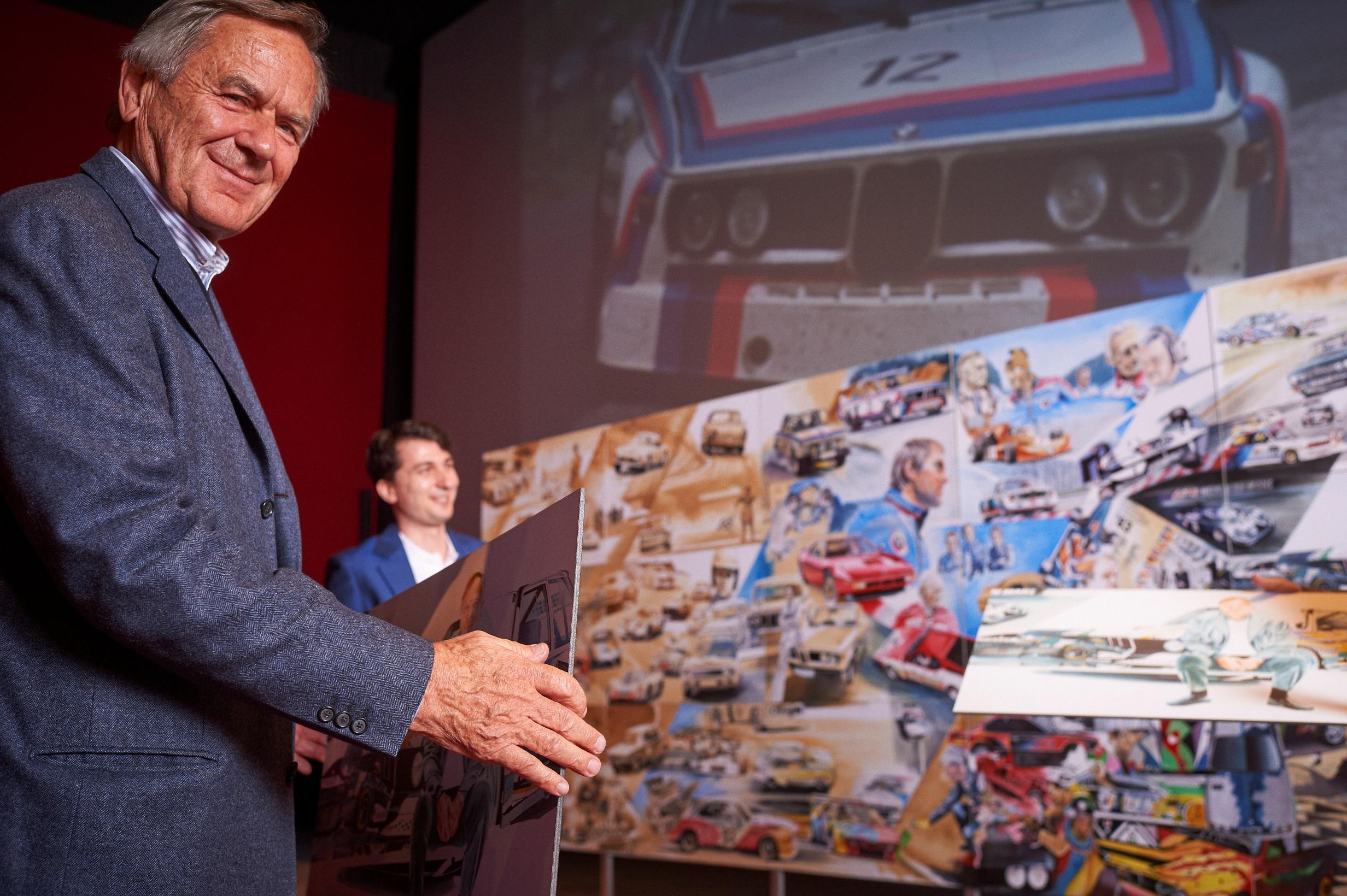 """O legendă în România: proiectul """"Blue Hero"""" a fost lansat în prezenţa lui Jochen Neerpasch şi este confirmat pentru expoziţii în Statele Unite"""