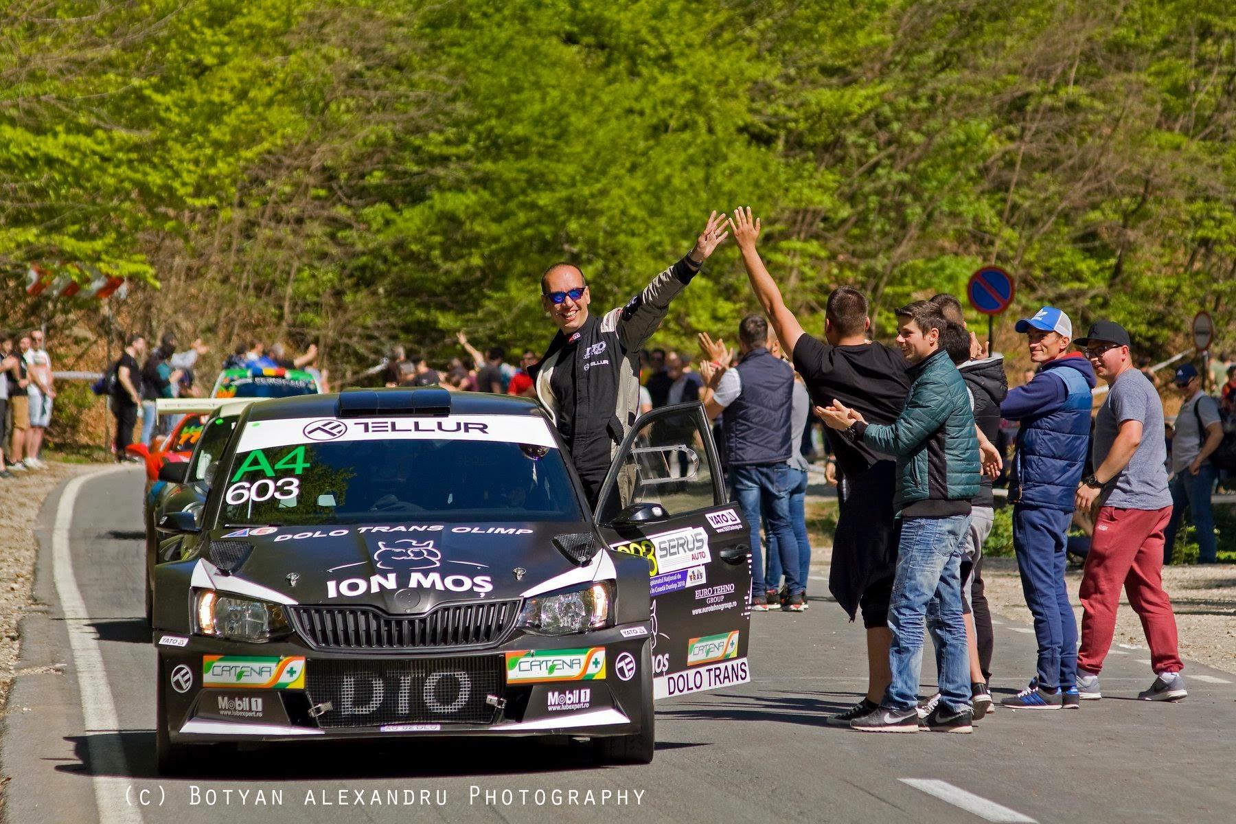 DTO Tellur RT pregătită pentru Transilvania Rally