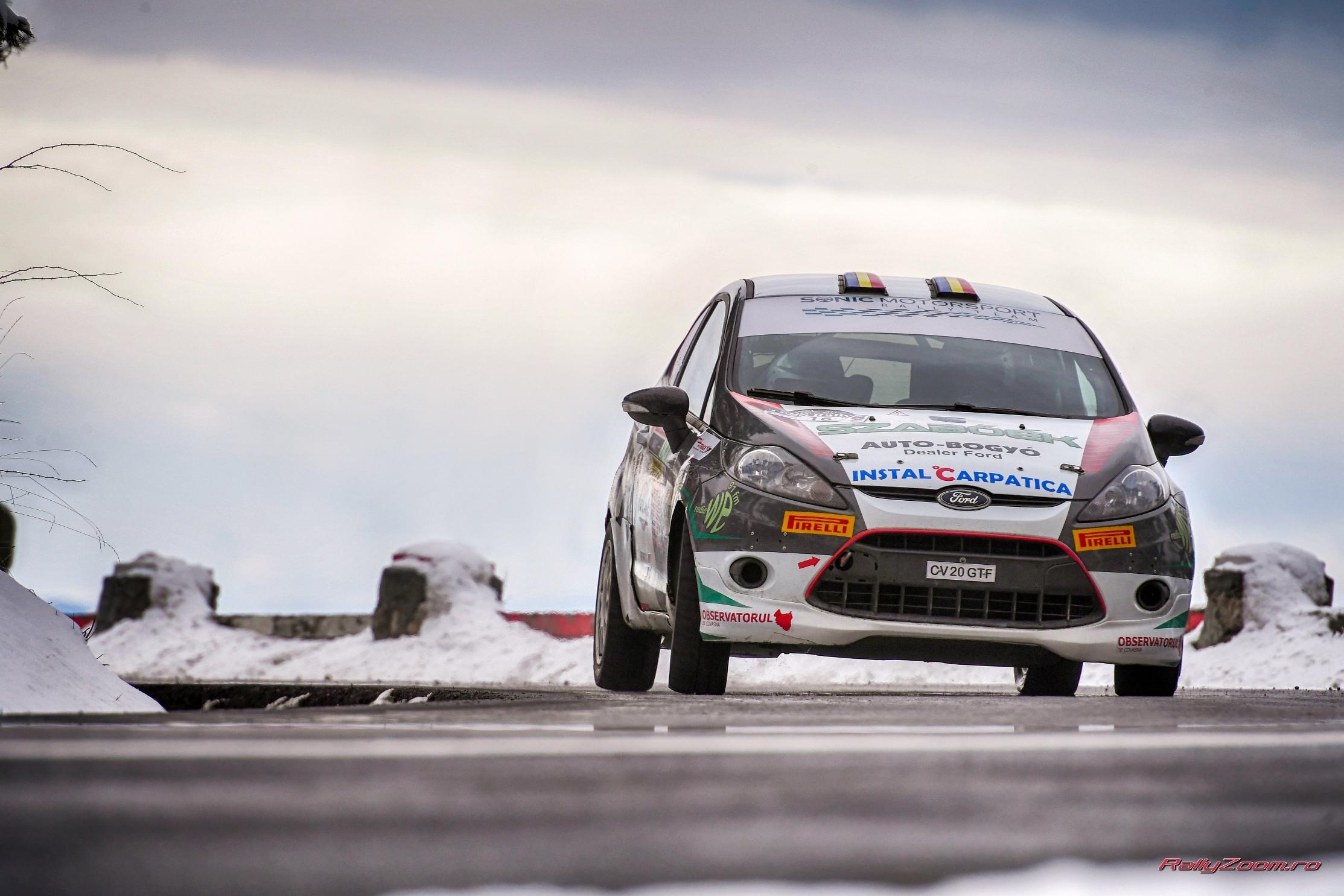 Csongor Szabo si Rares Fetean concureaza in Tour European Rally la Cluj-Napoca