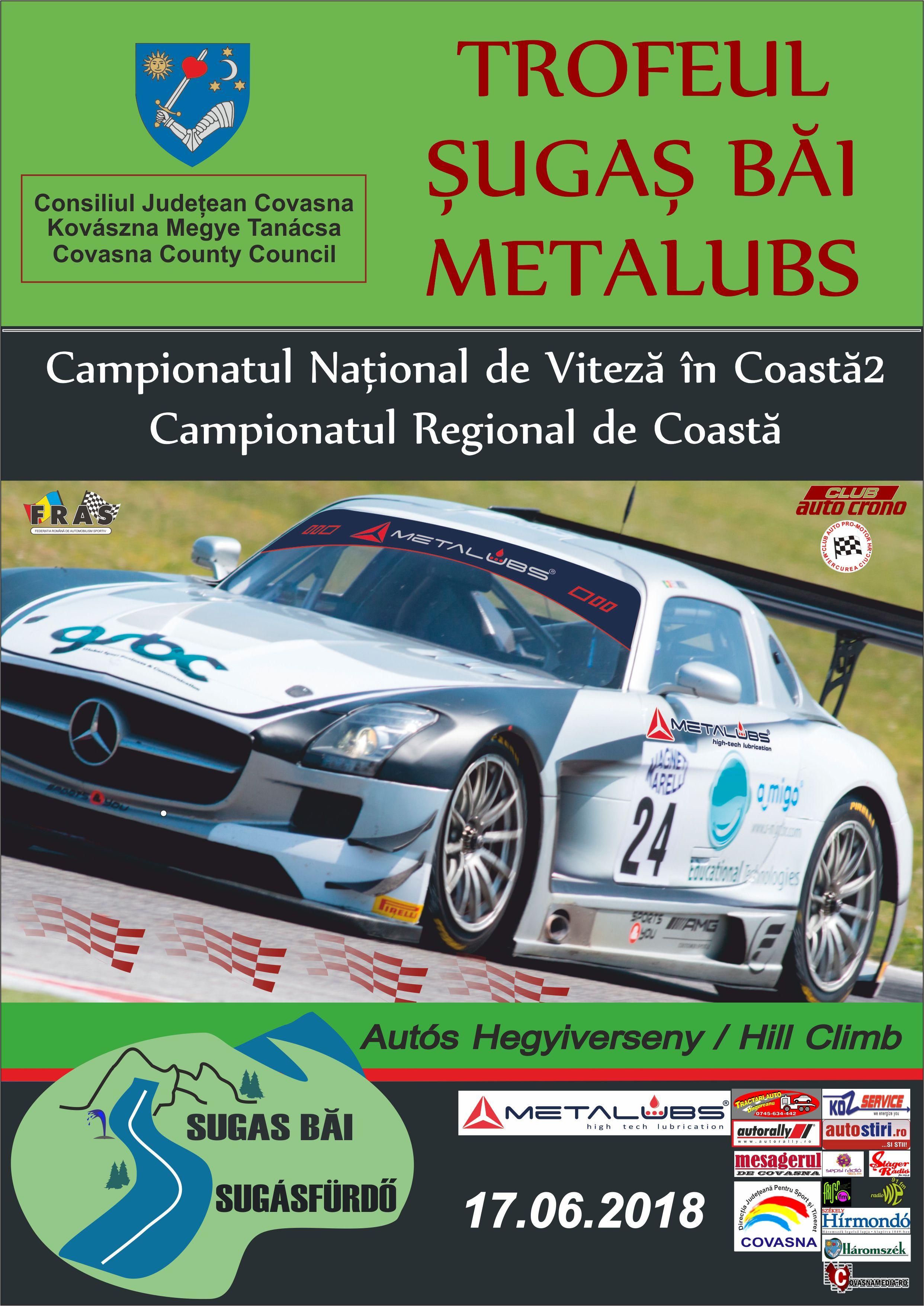 Trofeul Şugaş Băi Metalubs  – 17 iunie 2018