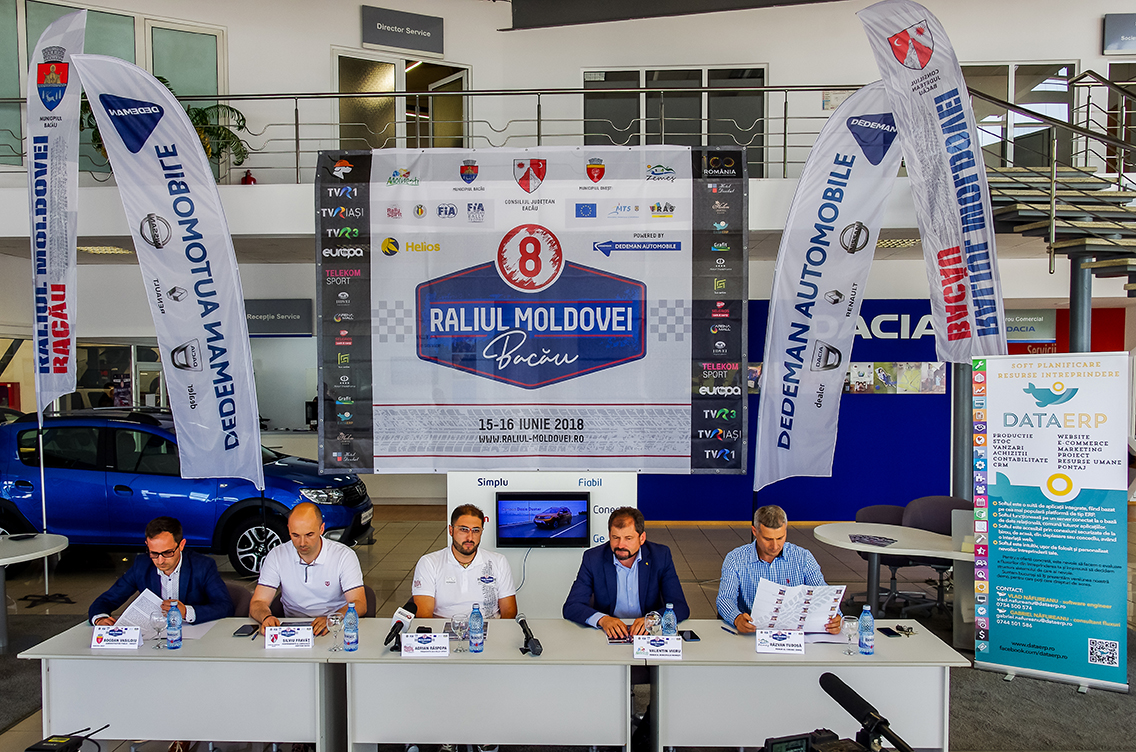 O ediție de referință pentru Raliul Moldovei Bacău powered by Dedeman Automobile