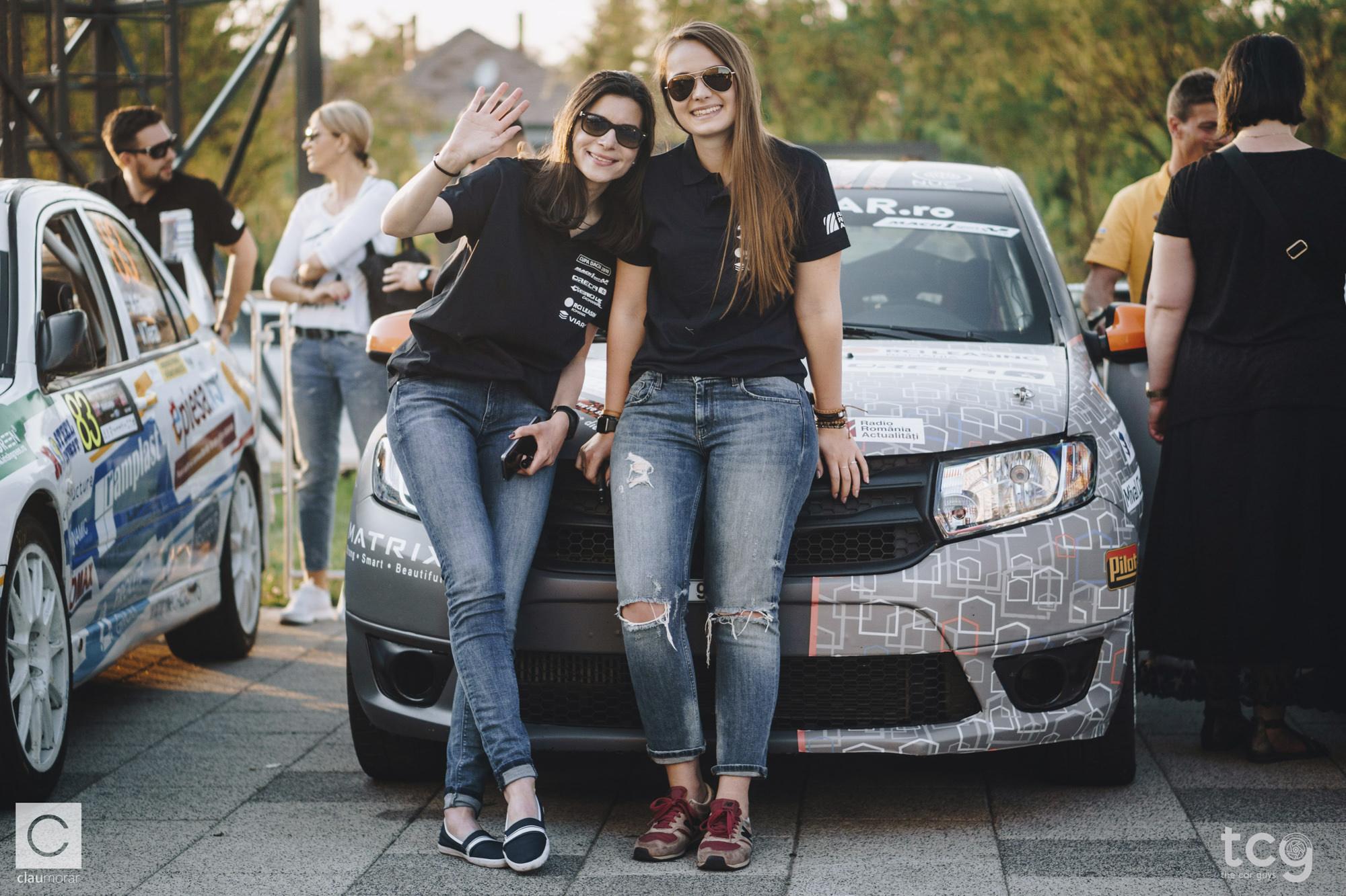 C. Oprea/ D. Hațegan, echipajul feminin romanesc care va participa la Sliven Rally