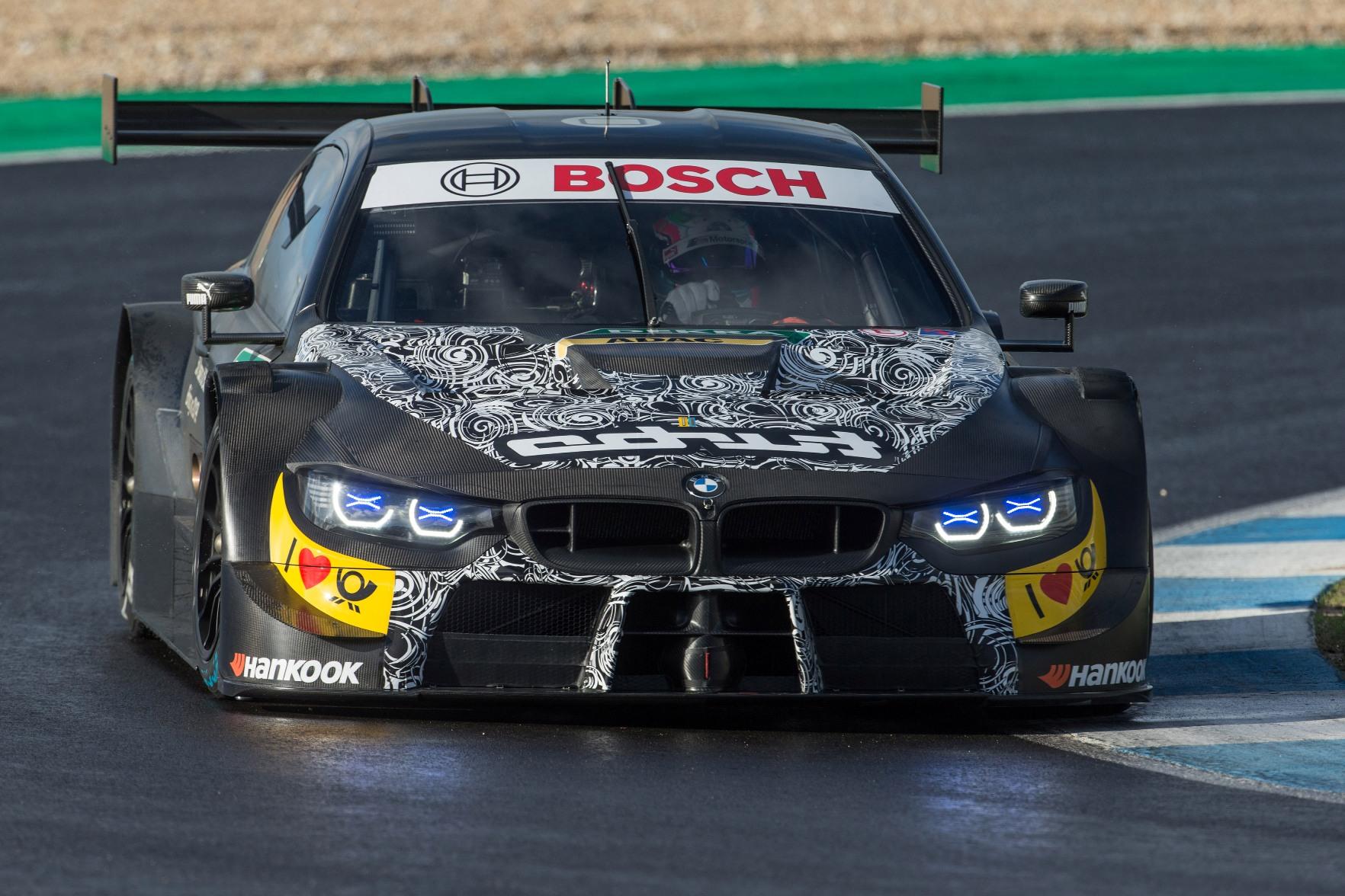 S-a încheiat primul test cu modelul BMW M4 DTM pentru sezonul 2019