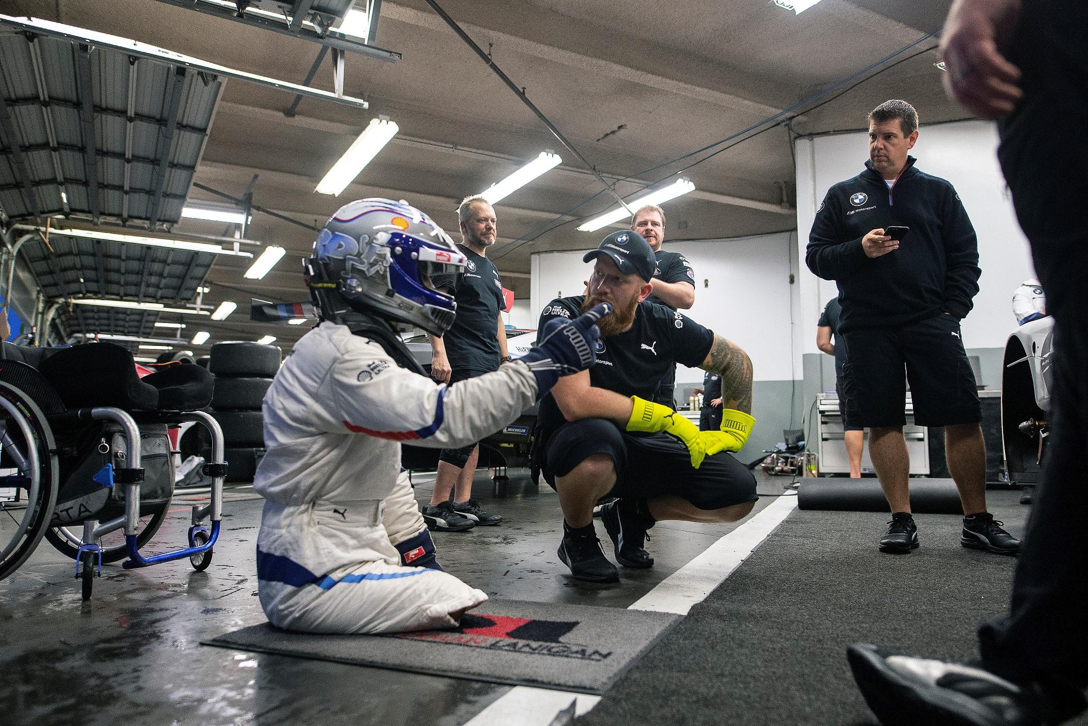 Alessandro Zanardi a încheiat primul test cu BMW Team RLL pentru cursa de 24 de ore de la Daytona