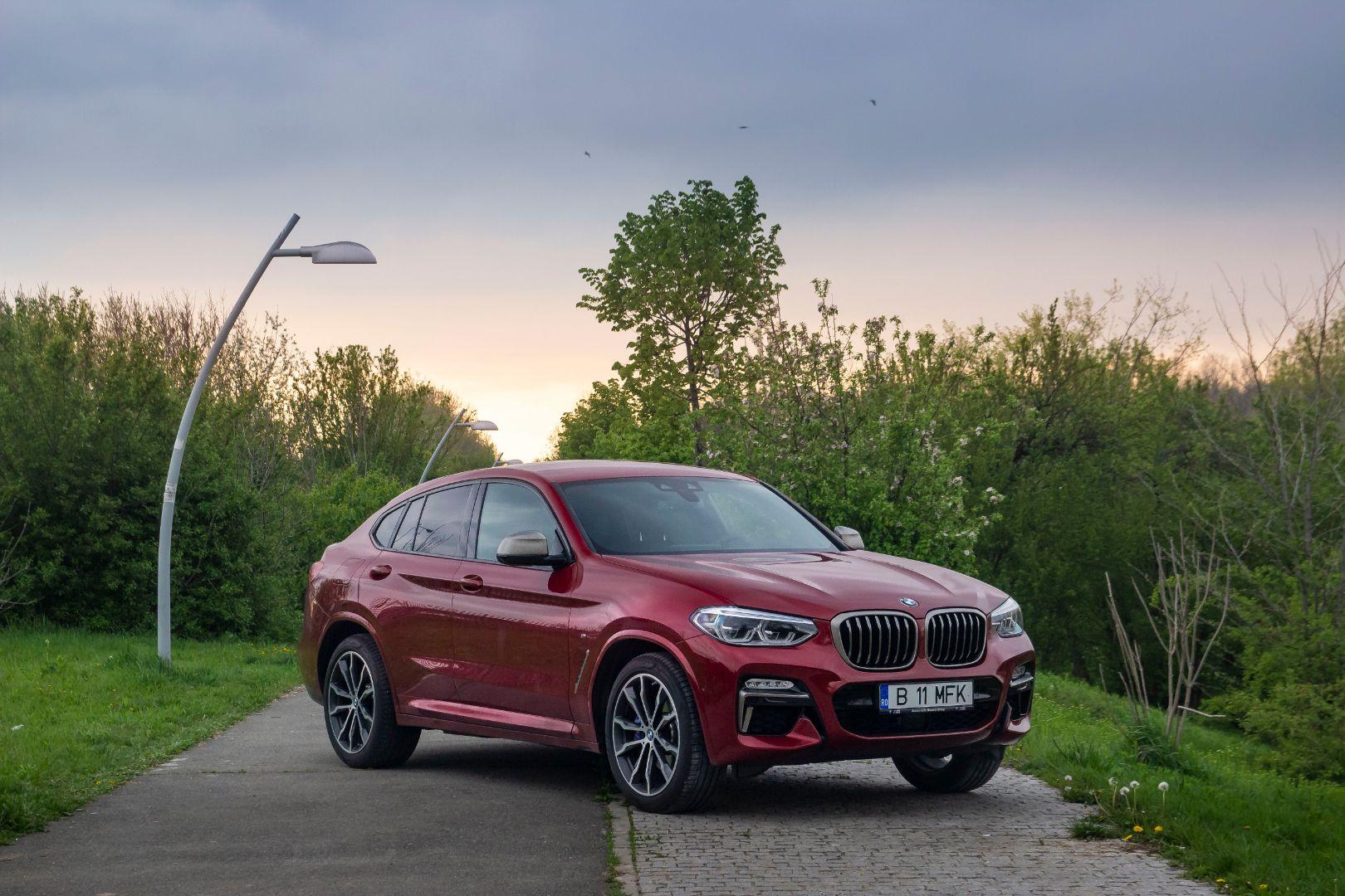 Drive-test BMW X4 M40d
