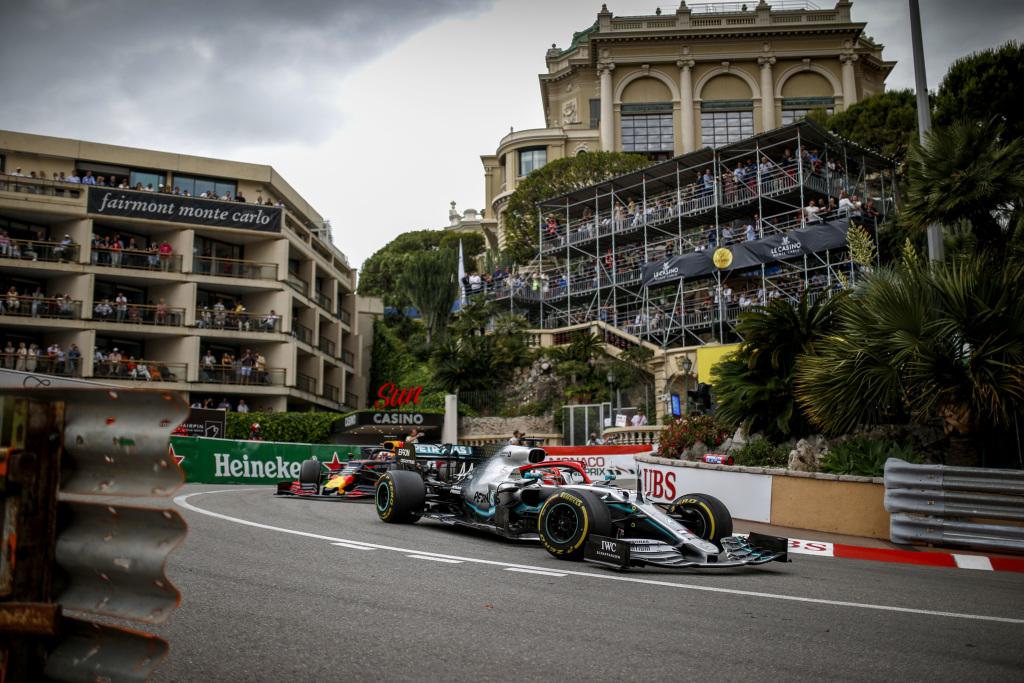 Grand Prix Monaco 2019 a fost castigat de Lewis Hamilton