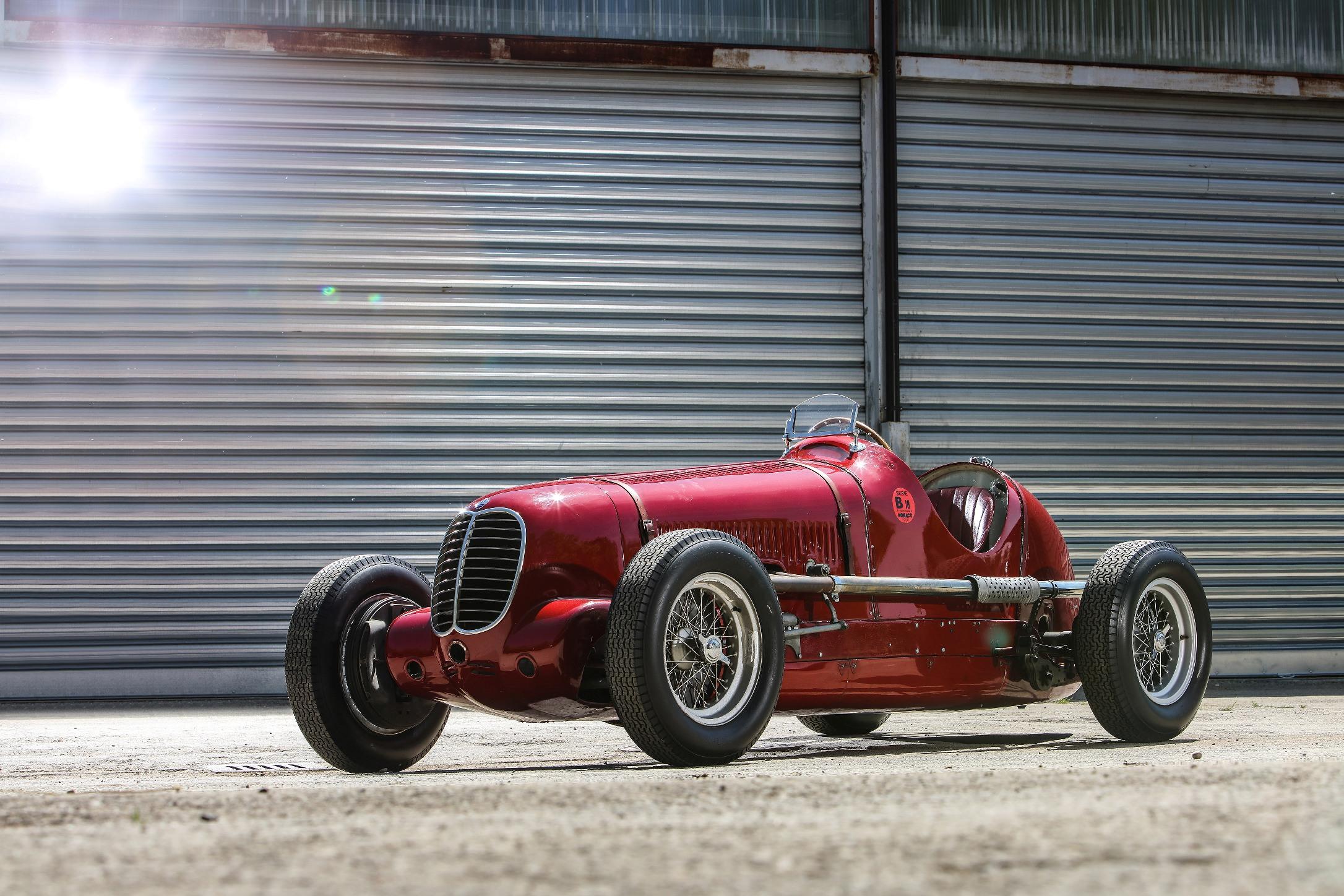 Maserati celebrează victoria modelului Tipo 6CM de la Targa Florio din 1939