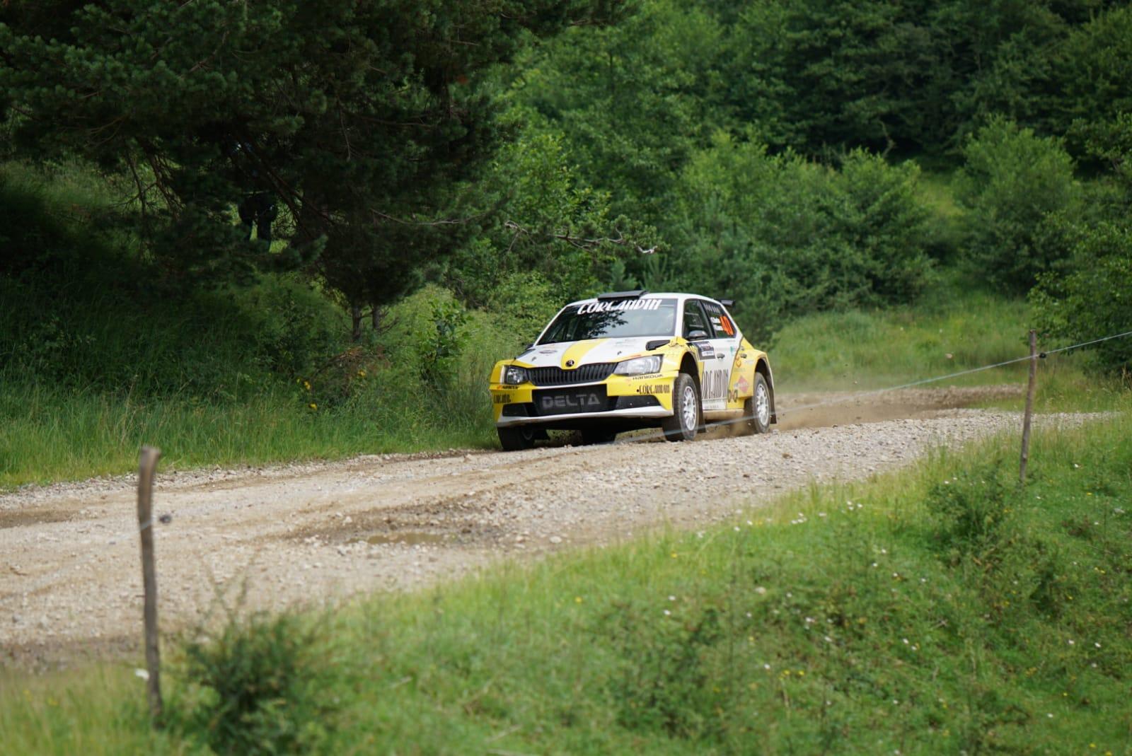 Sebastian BARBU a fost cel mai rapid în shakedown-ul Raliului Moldovei Bacău powered by Dedeman Automobile
