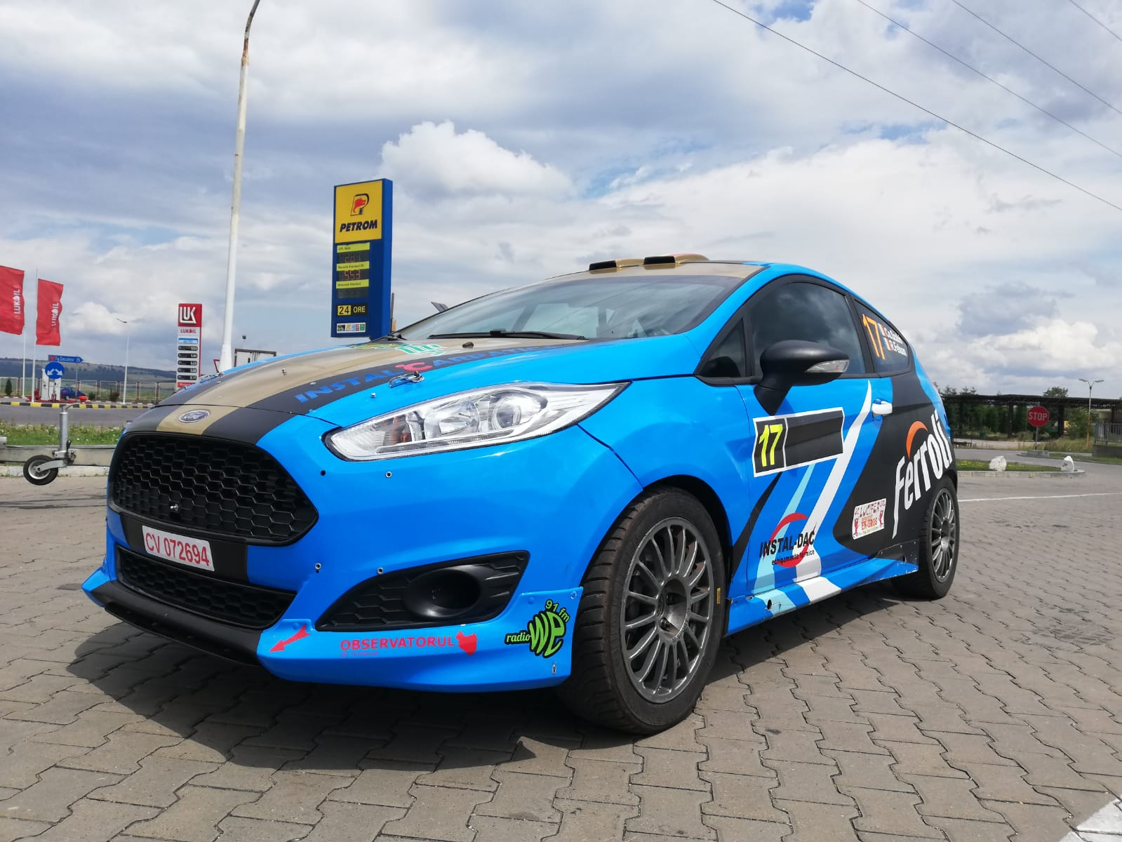 Revenire cu o nouă mașină de concurs pentru Csongor Szabo, la Raliul Perla Harghitei